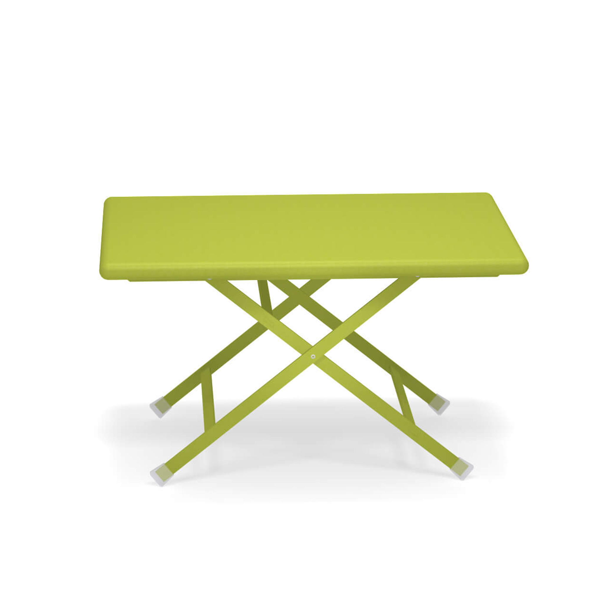 Arc en Ciel Folding Coffee Table - <p>A range of colourful solutions to outdoor living, equally suited to balconies at home or large green gardens. Different sized tables, chairs with or without armrests and footrests, all of which can be folded making this furniture both informal and dynamic. This collection, made from steel, is full of bright, eye-catching solutions that enliven every context thanks to the wide choice of colours available.</p>
