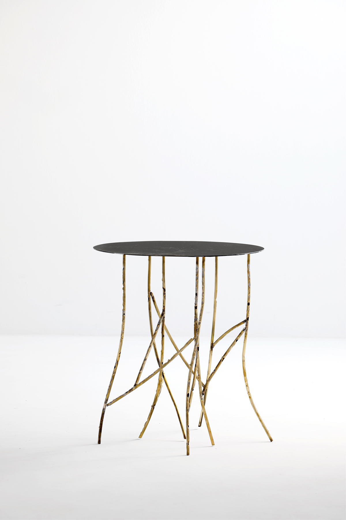 Branches Side Table - Nature that occupies its space once again. In abandoned