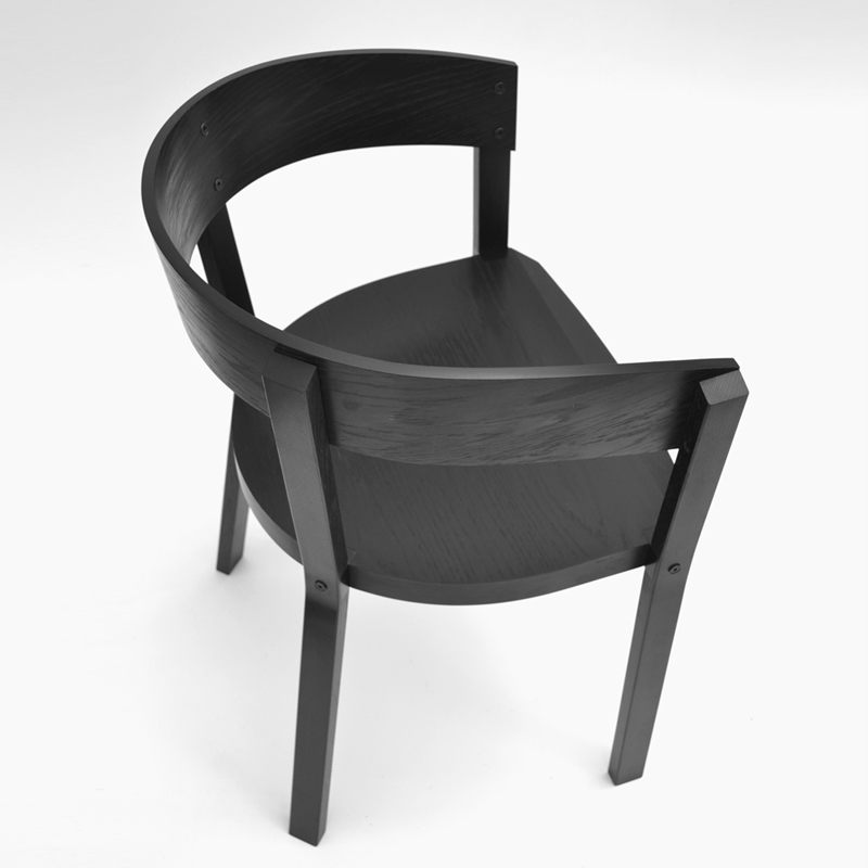 Apart Armchair - <p>Apart armchair has been designed with flat-packing in mind.<br /> It is a combination of wood and plywood available in a variety offinishes.<br /> The joint in this chair has been designed with strong elegance, subtlydrawing attention to the way the chair is assembled.<br /> Designed to be flat pack for distribution, the chair has few components that can be easily assembled byhand.<br /> Other colours available, please inquire.</p>    Matter of Stuff
