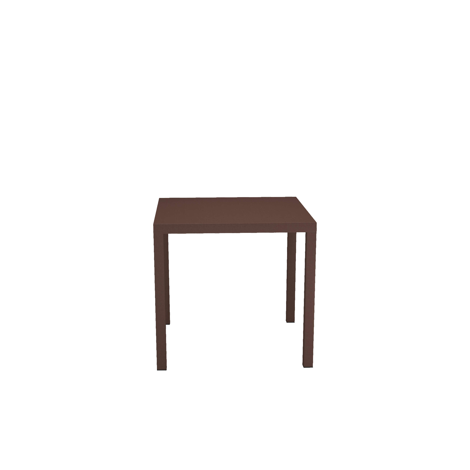 Nova Square Table - Set of 2 - This product is a set of two tables. The two sets can be one of two sizes and come in various colours. The Nova collection is characterised by small dimensions for maximum comfort, with unmistakable and original lines. The unusual armrest gives style and character to the armchair, bringing a bright note to a wide range of settings. The collection is completed with two square dining tables, whose clean lines enhance the unique design of the seats.   Matter of Stuff