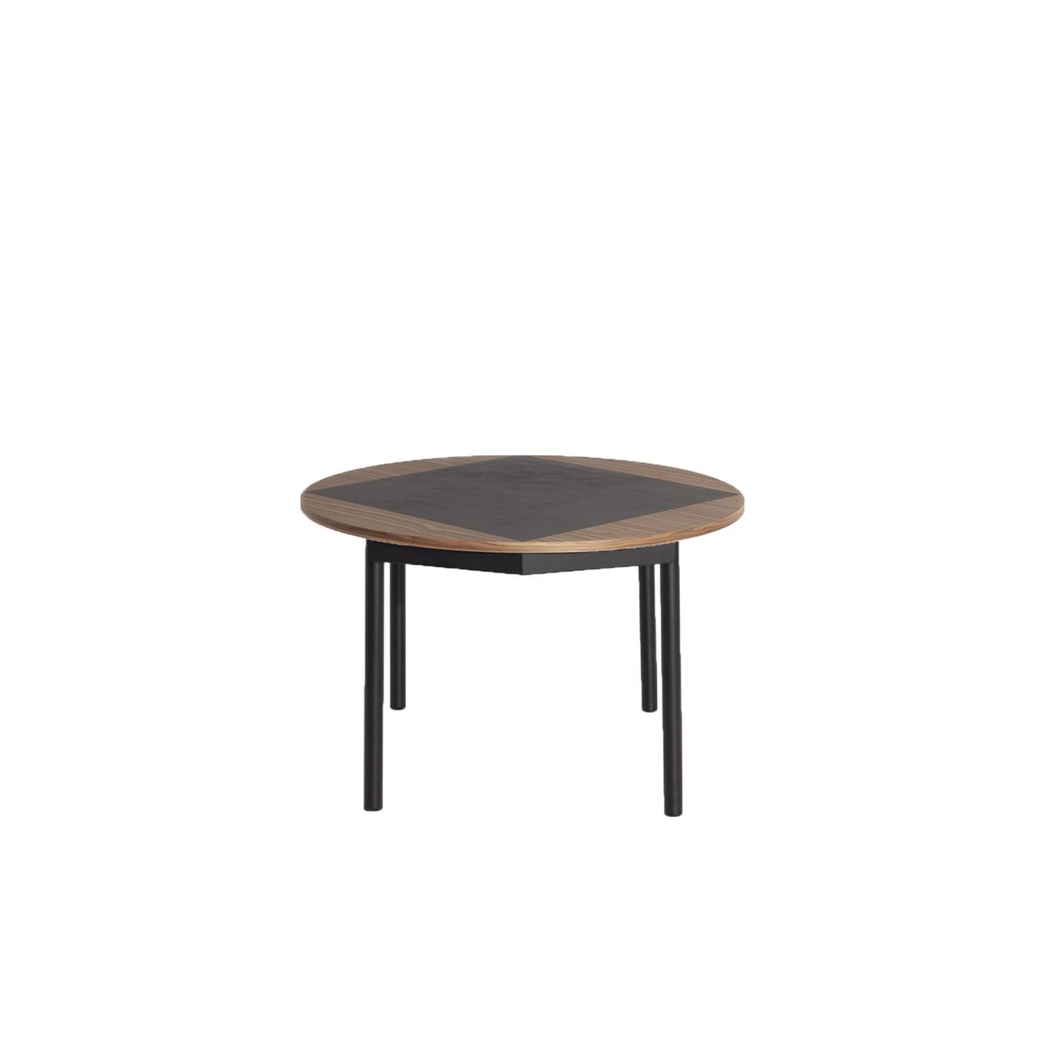 Tavla Round Wood Table - Tavla round wood table was born from the collaboration between Petite Friture team and Pool studio, a designing duo that has a faithful history with the Brand. They previously released together successful products like ISO A & ISO B side tables or the Grid sofa