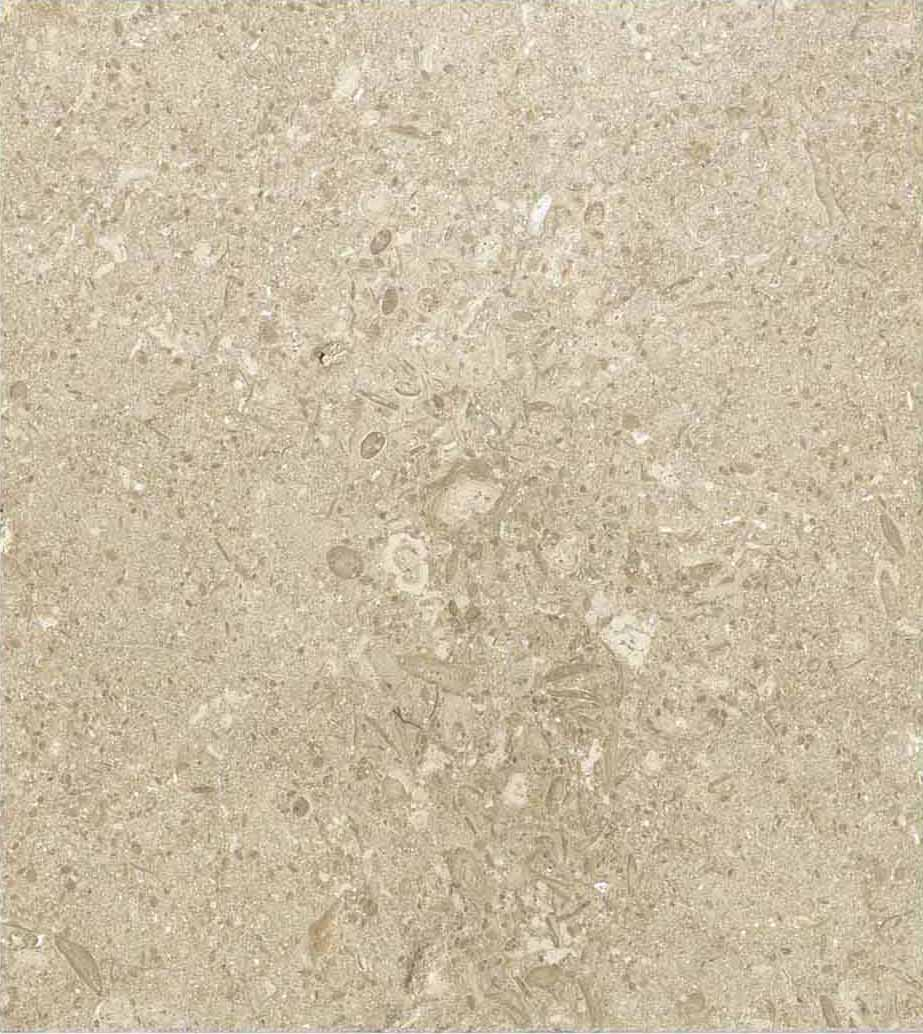 Grolla Beige Honed - Grolla hard limestone, the company's flagship product, is a versatile and resistant material because it lends itself to all types of processing.  What distinguishes this stone from the others are its extraordinary certified technical-mechanical characteristics, such as low water absorption, resistance to abrasion, salt, pollution and frost.  Thanks to these peculiarities, Grolla is suitable to the realisation of outdoor projects (ventilated and glued facades, floors, swimming pools) and interiors (wall coverings, floors, bathrooms, kitchens, objects and furnishing elements such as sinks, shower trays, tubs, tables and much more).  The colors of the Grolla range from beige to intense pink shades, passing through grey.  The remarkable technical characteristics, combined with the aesthetic qualities of this stone, adapt to suited to styles, architectural contexts and design from classic to contemporary, perfectly matching with wood, glass, steel and other materials.  Interiors and exteriors, classicism and contemporaneity: for Grolla, every solution is possible.   Matter of Stuff
