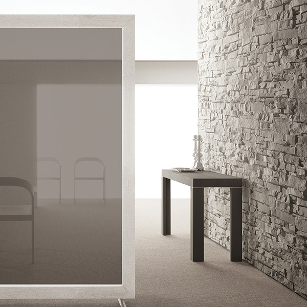 Assolo Extensible Console Table - <p>Table with refined and minimal lines, very versatile, it resolves any kind of need, also in the most prestigious professional environments. In both console and table version, it keeps and highlights its elegance, interpreting taste and needs of the contemporary life.</p>    Matter of Stuff