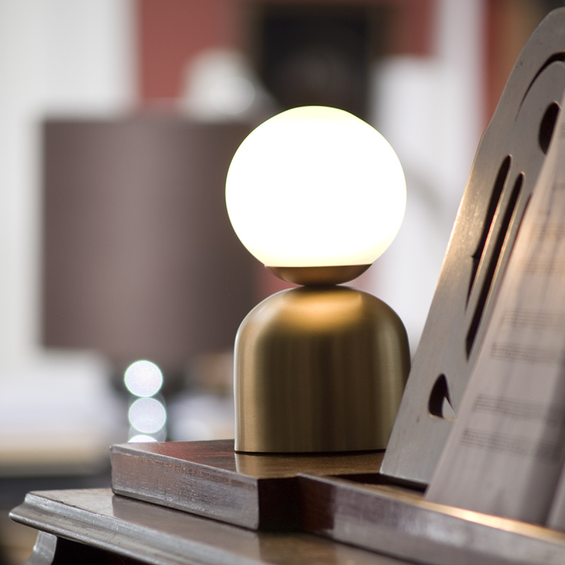 Bon Bon Copper Light - <p>A nostalgic design echoing sounds of the past, the Intueri Light Turbaya Table/Wall Lamp contemporizes the look of a gramophone. The Turbaya has a shape like a gramophone and it can remind others about the old days when this was the only thing that we could listen music on. Turbaya is a multi-function light. Wall light, table light, two functions in one product.</p>  | Matter of Stuff