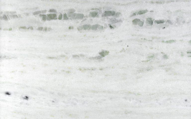 "Pinta Verde Marble - Pinta Verde is a white base with pale green waves marble quarried in Brazil <ul class=""dati-generali"">  <li class=""field-carico_di_rottura_a_compressione""><span class=""label-det"">Compression tensile strength</span><span class=""value-det"">1563 kg/cm²</span></li>  <li class=""field-carico_di_rottura_dopo_cicli_gelivita""><span class=""label-det"">Tensile strength after freeze-thaw cycles</span><span class=""value-det"">1478 kg/cm²</span></li>  <li class=""field-carico_di_rottura_unitario_a_flessione""><span class=""label-det"">Unitary modulus of bending tensile strength</span><span class=""value-det"">181 kg/cm²</span></li>  <li class=""field-coefficiente_dilatazione_termica""><span class=""label-det"">Heat expansion coefficient</span><span class=""value-det"">0.0045 mm/m°C</span></li>  <li class=""field-coefficiente_imbibizione_acqua""><span class=""label-det"">Water imbibition coefficient</span><span class=""value-det"">0.23%</span></li>  <li class=""field-resistenza_all_urto""><span class=""label-det"">Impact strength</span><span class=""value-det"">48 cm</span></li>  <li class=""field-peso_per_unita_di_volume""><span class=""label-det"">Mass by unit of volume</span><span class=""value-det"">2667 kg/m³</span></li> </ul> | Matter of Stuff"