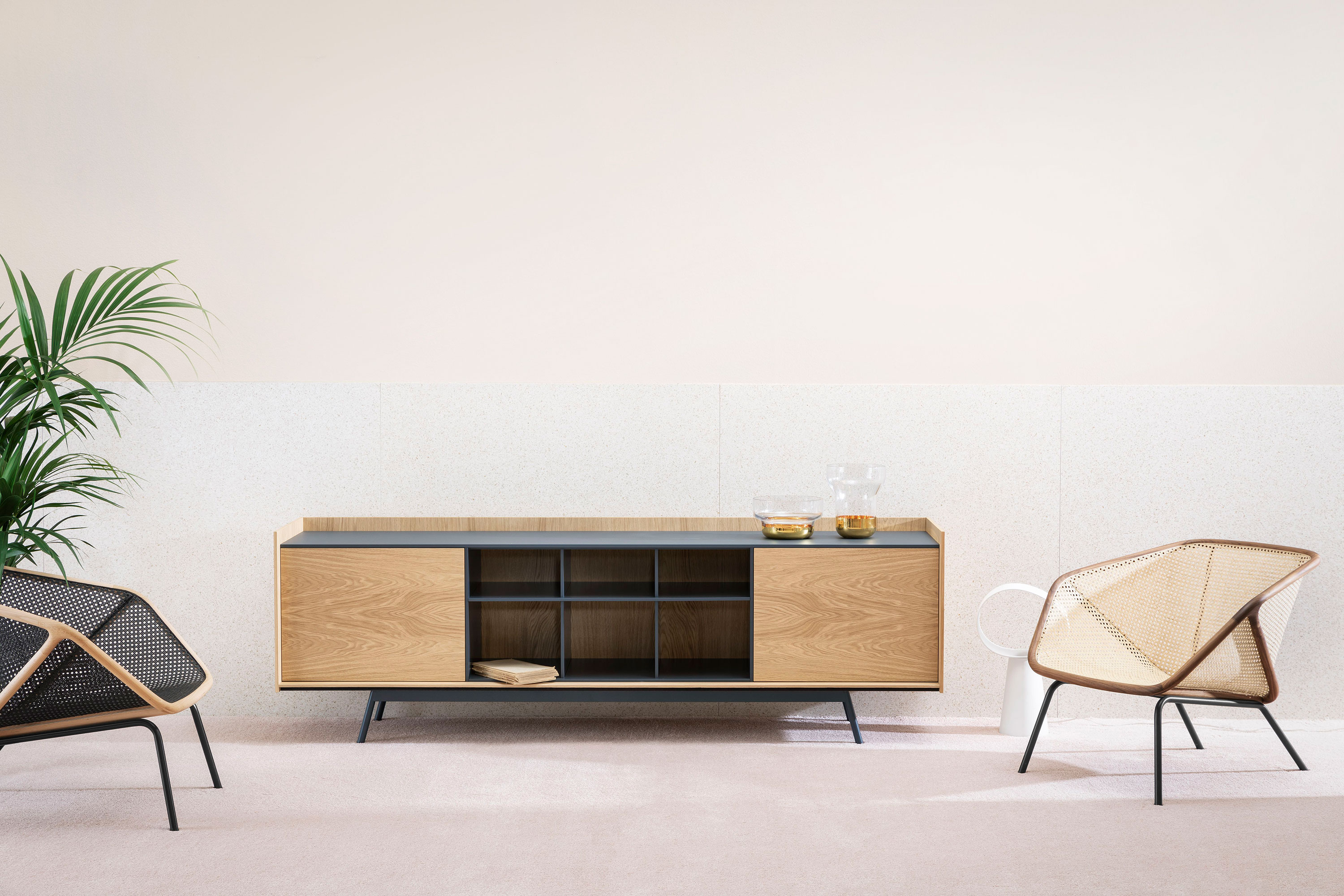 Edge Sideboard - Edge was created from a clear, essential approach to the concept of the sideboard. The neutral colours and the expressiveness of the wood give the item an autonomous, indispensable role in the living area. A range of materials, colours and sizes are available in a number of combinations.   Prices may vary. Please enquire for full details.  | Matter of Stuff