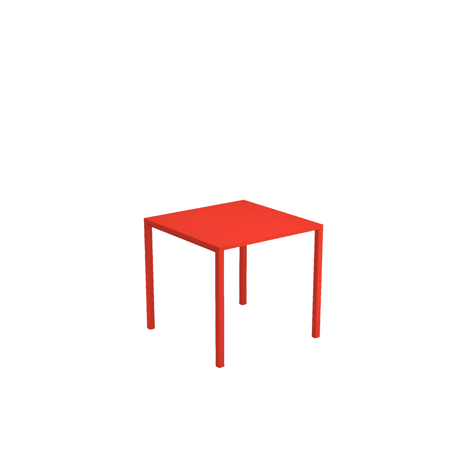 Urban Stackable Square Table - Urban, made in aluminium, interprets the contemporary style of urban outdoor settings by creating areas for lively and enjoyable social events, with the aid of its classic lines and the natural lightness of the aluminium. Resistant, practical and light, Urban is the ideal solution for outdoor furniture that is simple, lively and of immediate impact.  | Matter of Stuff