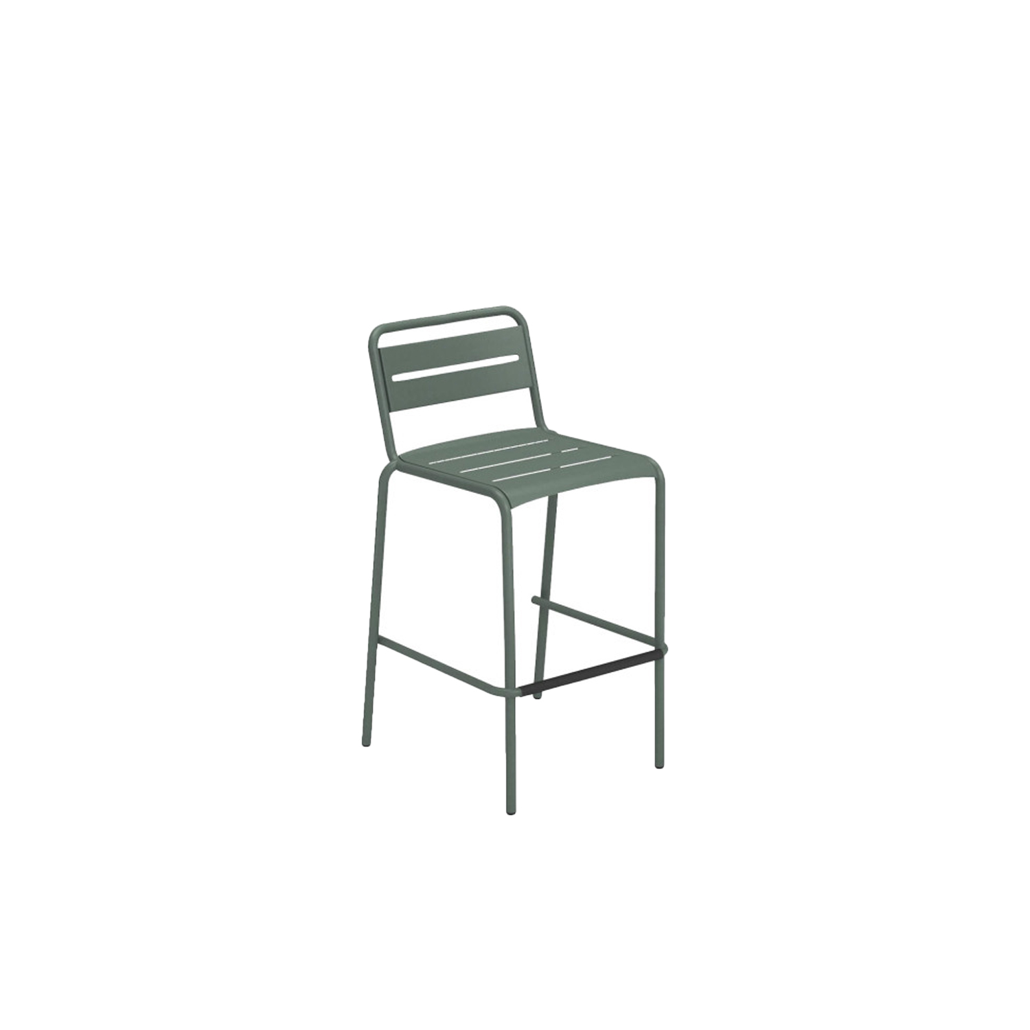 Star Barstool - Set of 4 - This set of 4 barstools is perfect for outdoor bars. They are available in a wide array of colours so that you can choose the best one to suit your space. The Star collection is a series of chairs and tables, the Star collection is an evergreen among EMU products. Simple shapes, colour and versatility mark this collection which is defined by soft, classic lines, ideal in multiple contexts and surroundings. The Star collection comprises chair, armchair, stool, lounge chair, sofa and tables of various sizes.