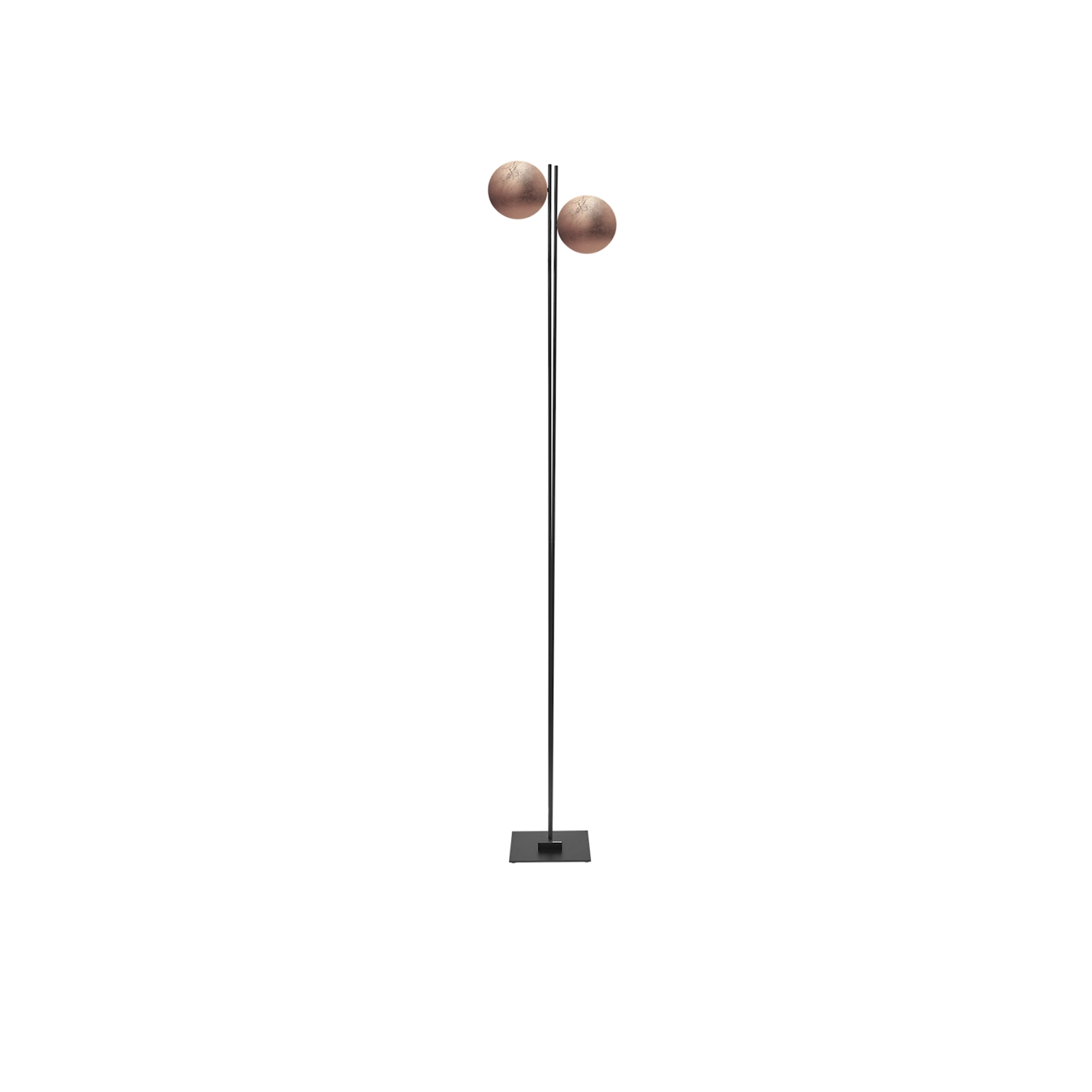 Lederam F2 Floor Lamp - Lederam embodies the accuracy of the motion required to draw a line. The warm, softly coloured disks surround a LED module with an ultra-flat shape, which creates thin lamps and suspended forms with curved, sinuous lines. | Matter of Stuff