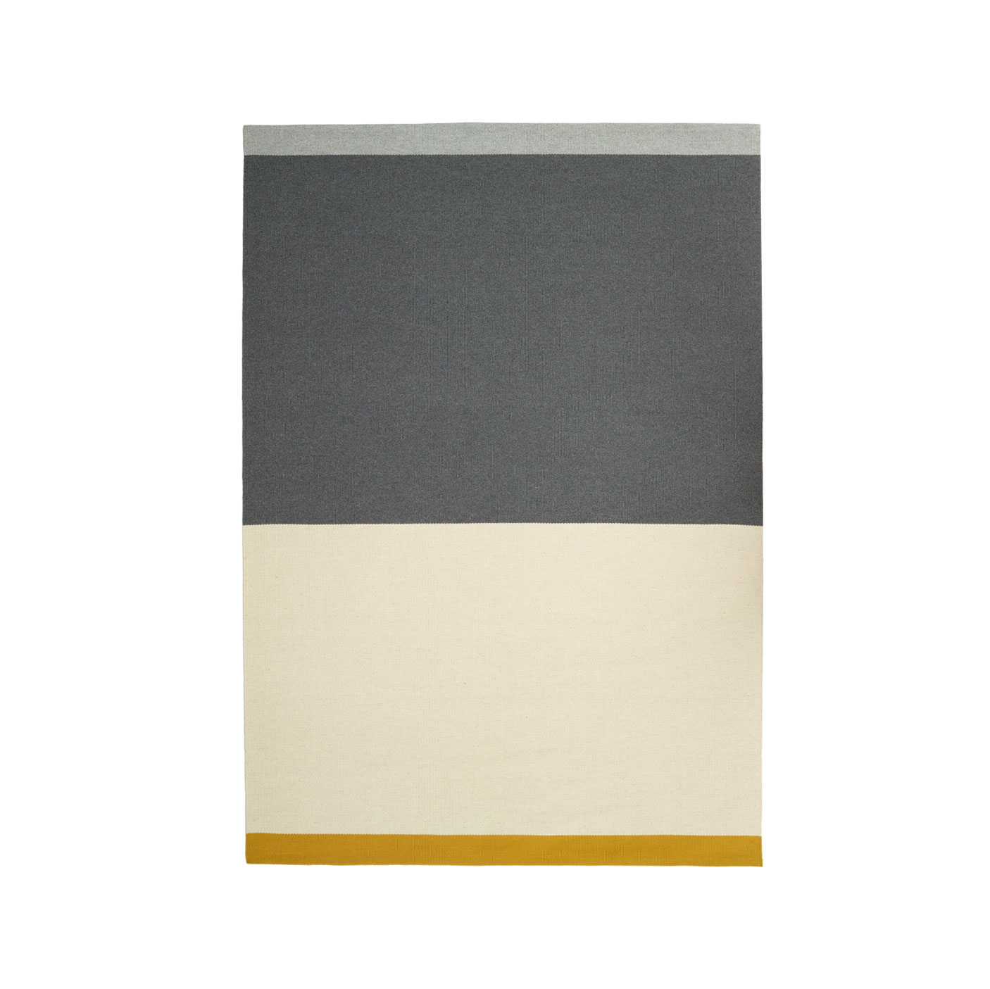 Fran Large Rug - <p>The Alfred Collection consists of five series (Fran, Frenzy, Lucy, Ivy, Billie) of handwoven minimalist carpets made by Belgian textile designers Marie Mees and Athérine Biasino. Firstly, all carpets are handwoven with a mixture of two top-shelf wools from New Zealand and Portugal, the first offering the right softness and look, the other adding strength. Secondly, the designers envision a minimalist aesthetic that resonates timelessness and not trendiness. In fact, hyped colours are fiercely avoided. By offering highly durable and supremely sober carpets, the Alfred Collection honours the archetype of the carpet, pure in form and in function, making it the perfect textile for the minimalist interior of the design admirer. Composition of the carpet is a mixture of Merino, New Zealand and Beira Alta (Portuguese wool).</p>  | Matter of Stuff