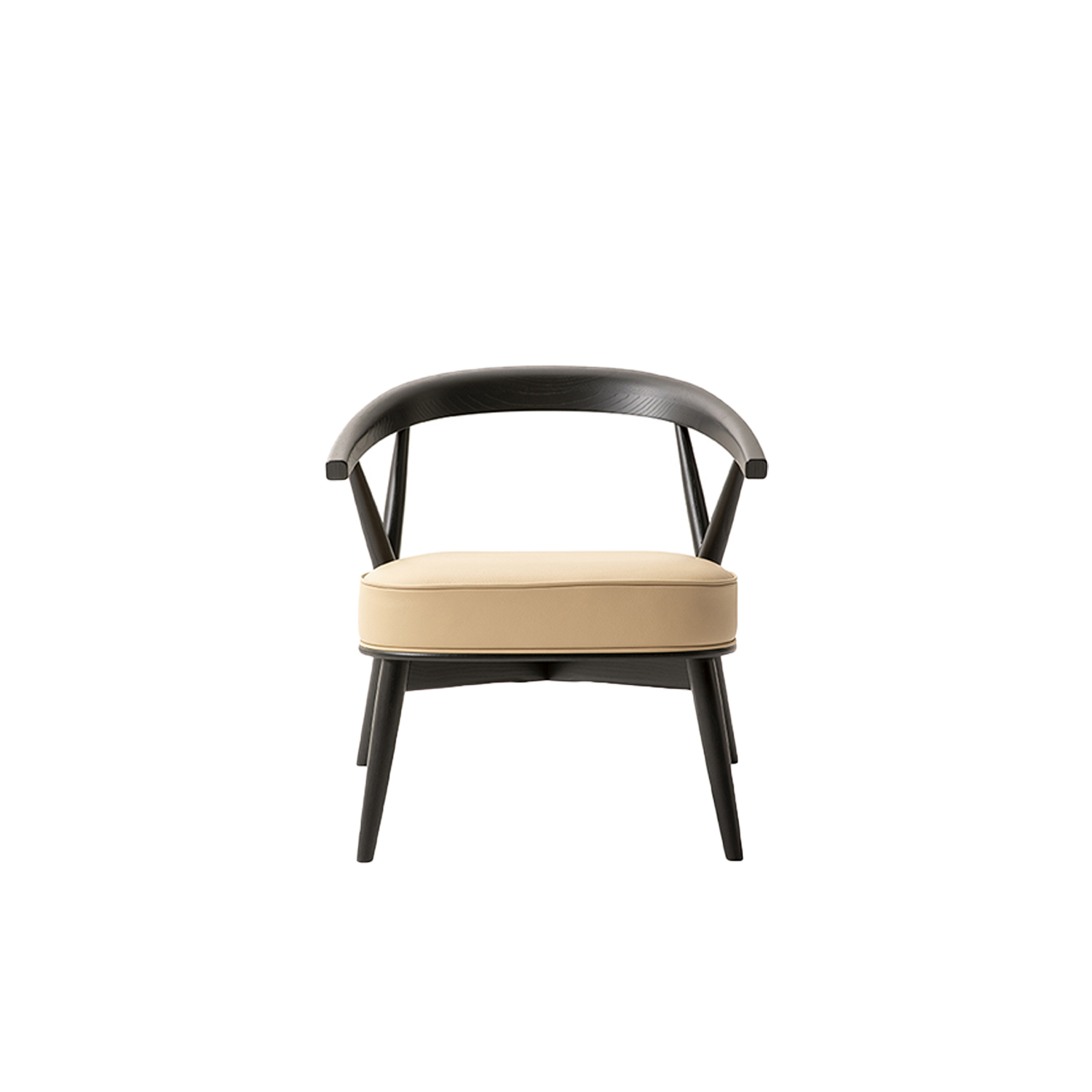 Newood Relax Light Lounge Chair - The Newood Relax Light chair, by BrogliatoTraverso, is an elegant interpretation of the Newood chair, but this version is lighter due to the elimination of the eight rods that characterized the original backrest.