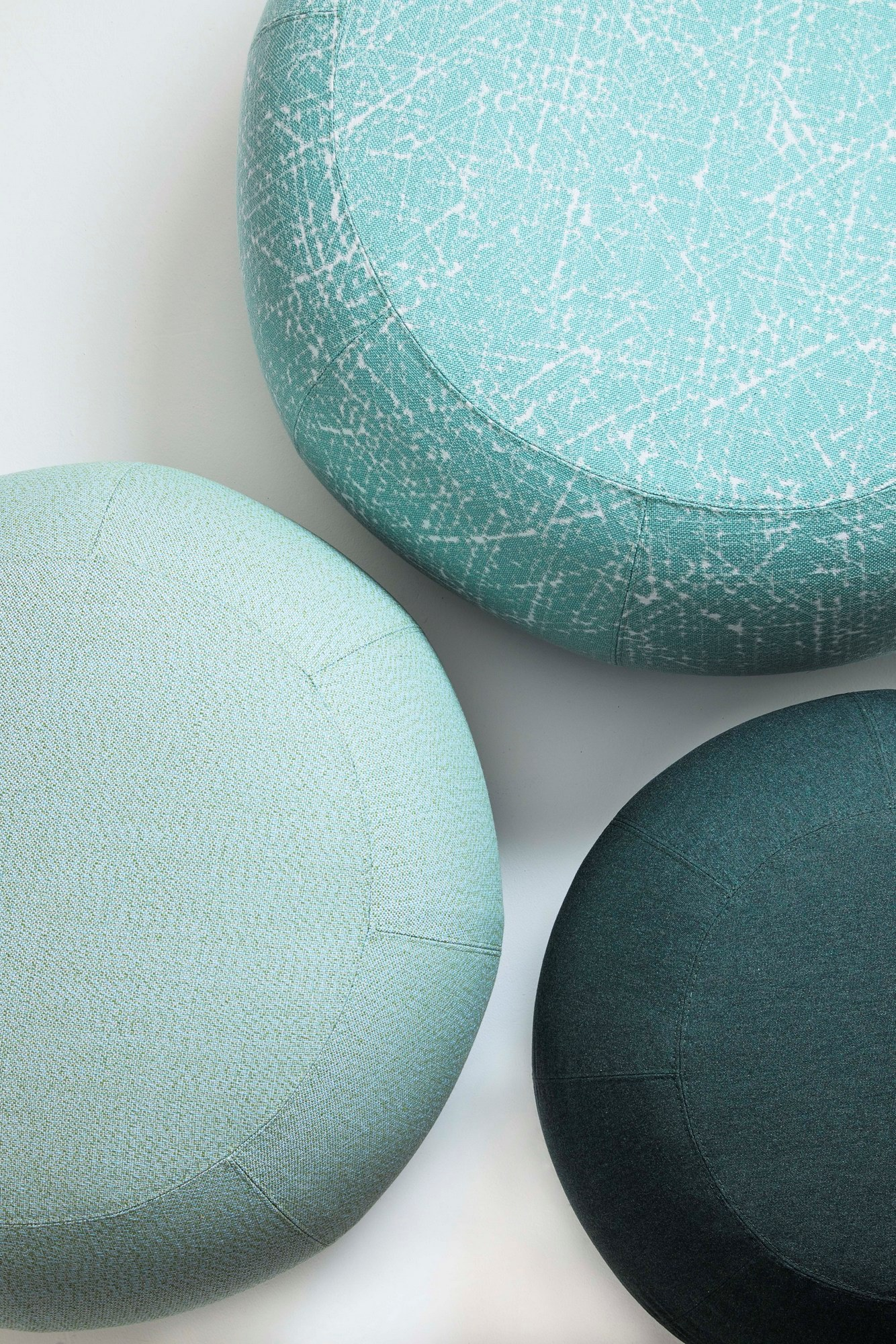 Geo Garden Pouf - Saba's iconic Geo pouf moves outdoor.‎