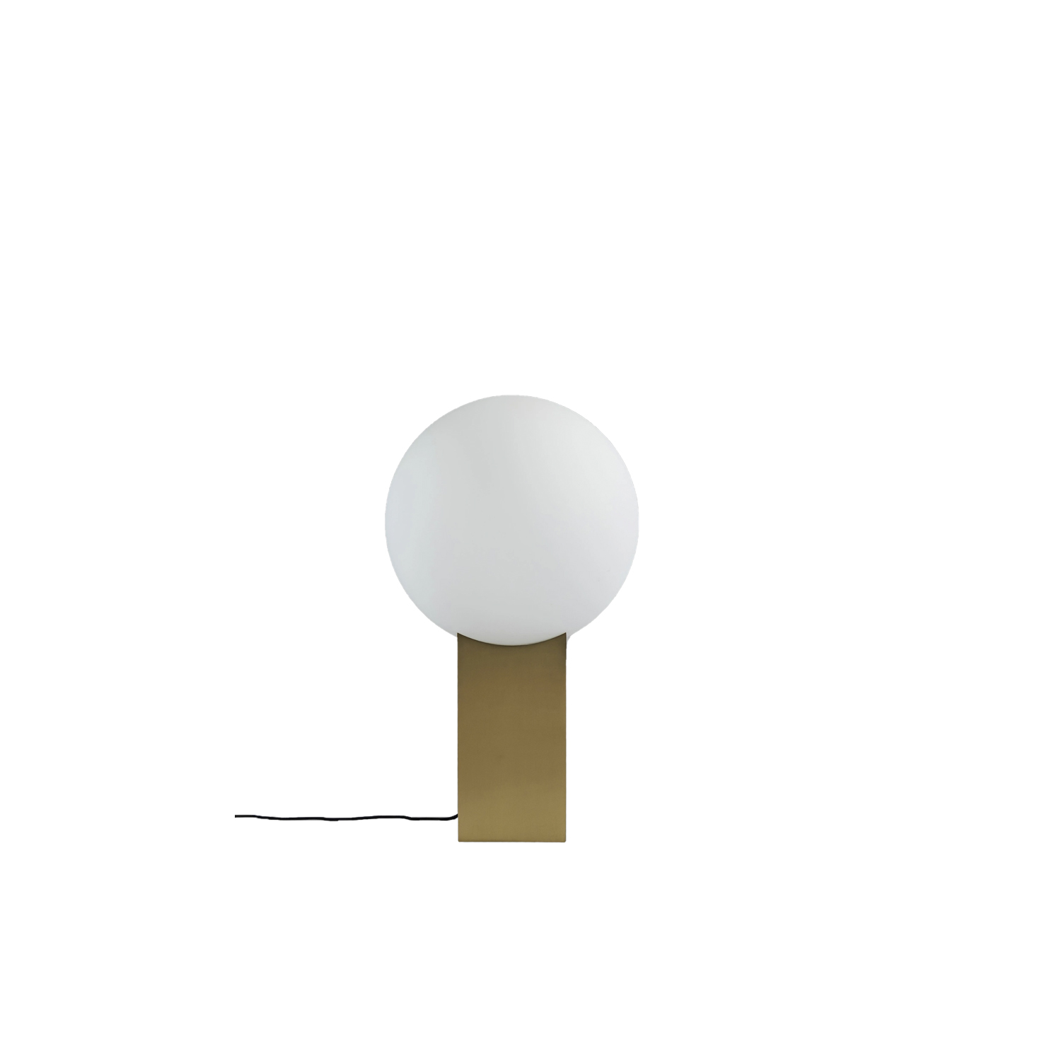 Hoop Floor Lamp - So simple, yet so sophisticated and uncompromised. It is hard to believe that a simple shape can create a stunning and art like lamp, but the Hoop series gives you just this with an almost naive essence of geometry and form.   The silhouette itself can light up even the darkest places and by offering the Hoop lamps in both brass and bronze it is possible to create two unique atmospheres with the same lamp.  | Matter of Stuff