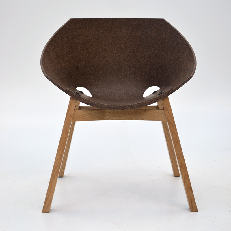 Corkigami Tanned Cork Chair
