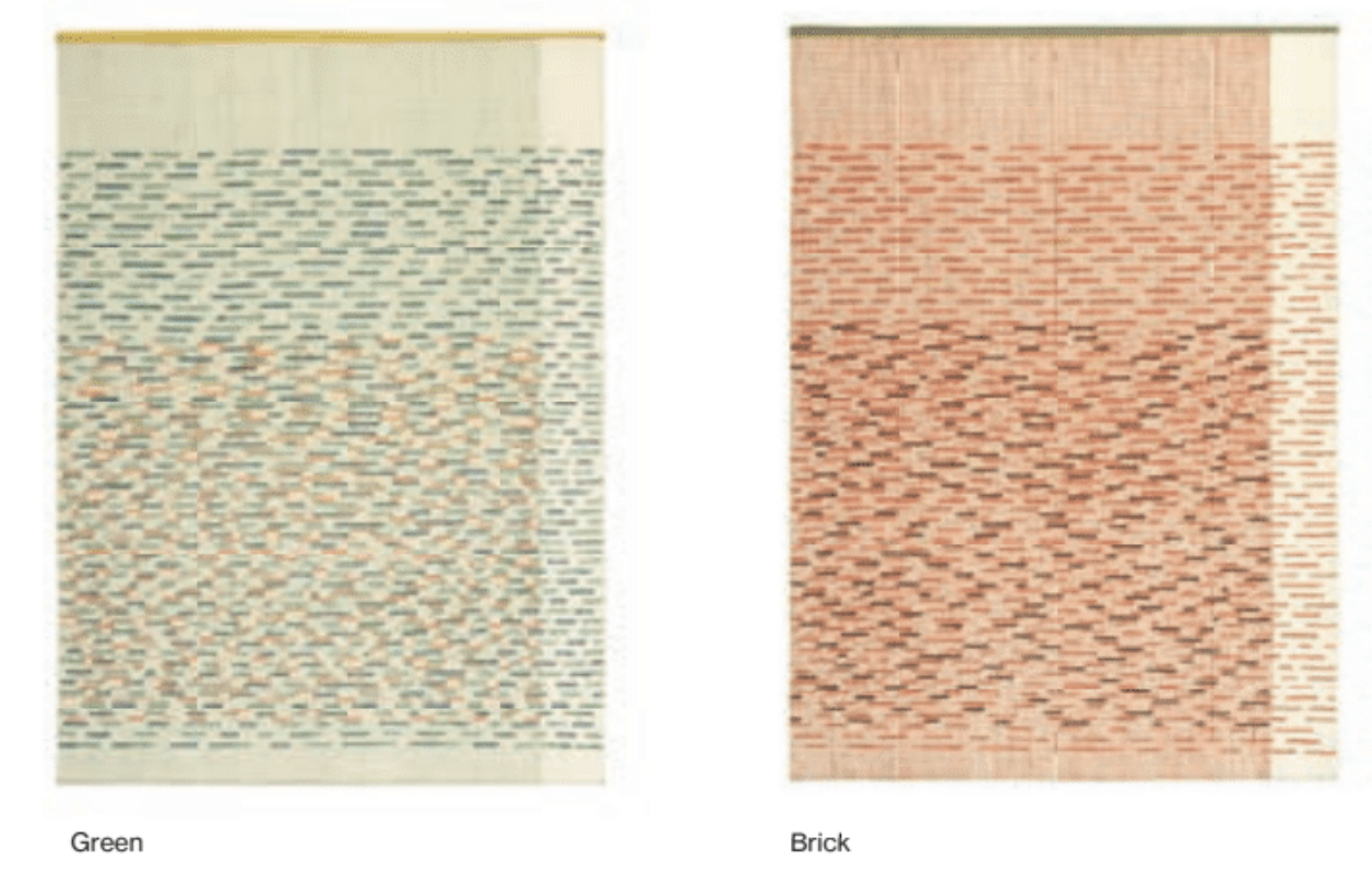 Backstitch Busy Rug - <p>Learning about embroidery – GAN's incredible craft and strength – Raw-Edges found themselves drawn to the aesthetics on its reverse side. The 'backstitch' has an unintentional hidden beauty to it, that one might so easily miss. Their aim was to understand the language of this 'random' backstitch and develop it into their rug collection. Focusing on colour combinations, the rhythm of patterns, the thickness of the yarns, tactility and craftsmanship, they also emphasise handmade work over working on the loom and the handmade embroideries. The technique used to make this rug is Kilim and Embroidery and due to the handmade nature of the GAN product, slight variations in size, colour, finish are normal. </p>