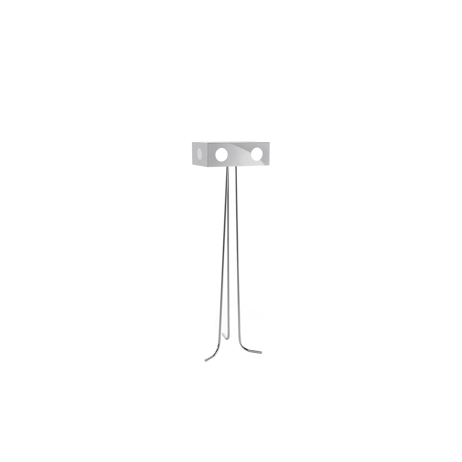 Threeve Floor Lamp - Threeve comes from a JCP universe's science-fiction movie, where notions of the past become the future and what we perceive as history has yet to be seen. Looking like little robots with an unxpected soul, they light the unseen and become characters able to transform everyday life.  | Matter of Stuff