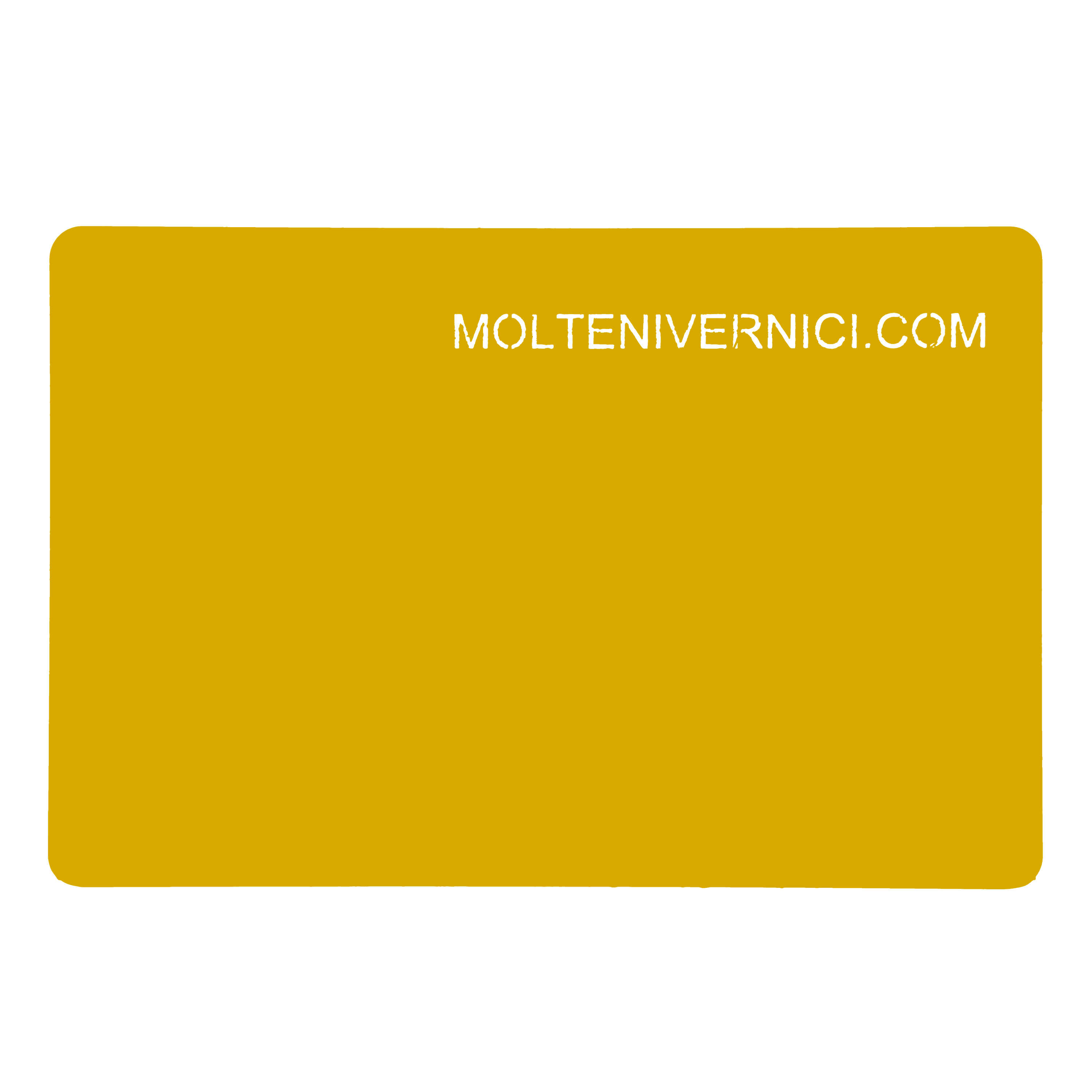 Mustard Yellow B1 Soft Effect Varnish - 2k two-component precious varnish with a rubber effect, characterized from a great tactile and soft aspect, anti-scratch, anti-UV, it does not get polished, it does not wear out and deteriorate through time. Completely based on nanotechnology and applicable in adhesion on supports made on metal, MDF and wood with the help of specific BASEFEEL primers and in direct adhesion on plastic polymers. Apt for interior supports, it can be applied both by pneumatic and electrostatic spraying. Essential finishing for all those Brands and Designers who want to develop warm and soft finishings for their own projects, giving life in this way to great ideas of design and contract which were not easy reachable so far at an engineering level. | Matter of Stuff