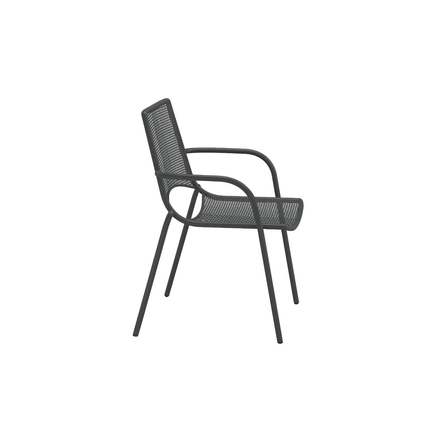 Ala Armchair - Set of 4 - <p>Soft and light steel collection, Ala is extremely versatile and fits perfectly in every environment. Presenting a chair and an armchair, Ala furnishes all kind of outdoor spaces with personality.</p>The Ala Armchair has a frame made from steel and a seat and back in hot galvanised painted simulated woven wire mesh and comes in four different finishes. This Armchair can be placed outside. Please enquire for more information.     Matter of Stuff