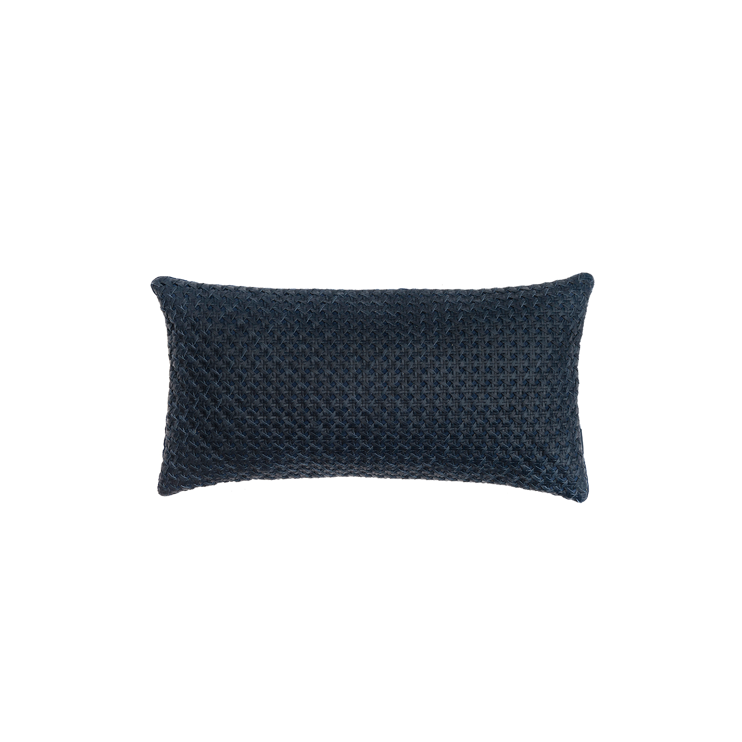 Mini Catavento Woven Leather Cushion Small - The Mini Catavento Woven Leather Cushion is designed to complement an ambient with a natural and sophisticated feeling. This cushion style is available in pleated leather or pleated suede leather. Elisa Atheniense woven handmade leather cushions are specially manufactured in Brazil using an exclusive treated leather that brings the soft feel touch to every single piece.   The front panel is handwoven in leather and the back panel is 100% Pes, made in Brazil.  The inner cushion is available in Hollow Fibre and European Duck Feathers, made in the UK.  Please enquire for more information and see colour chart for reference.   | Matter of Stuff