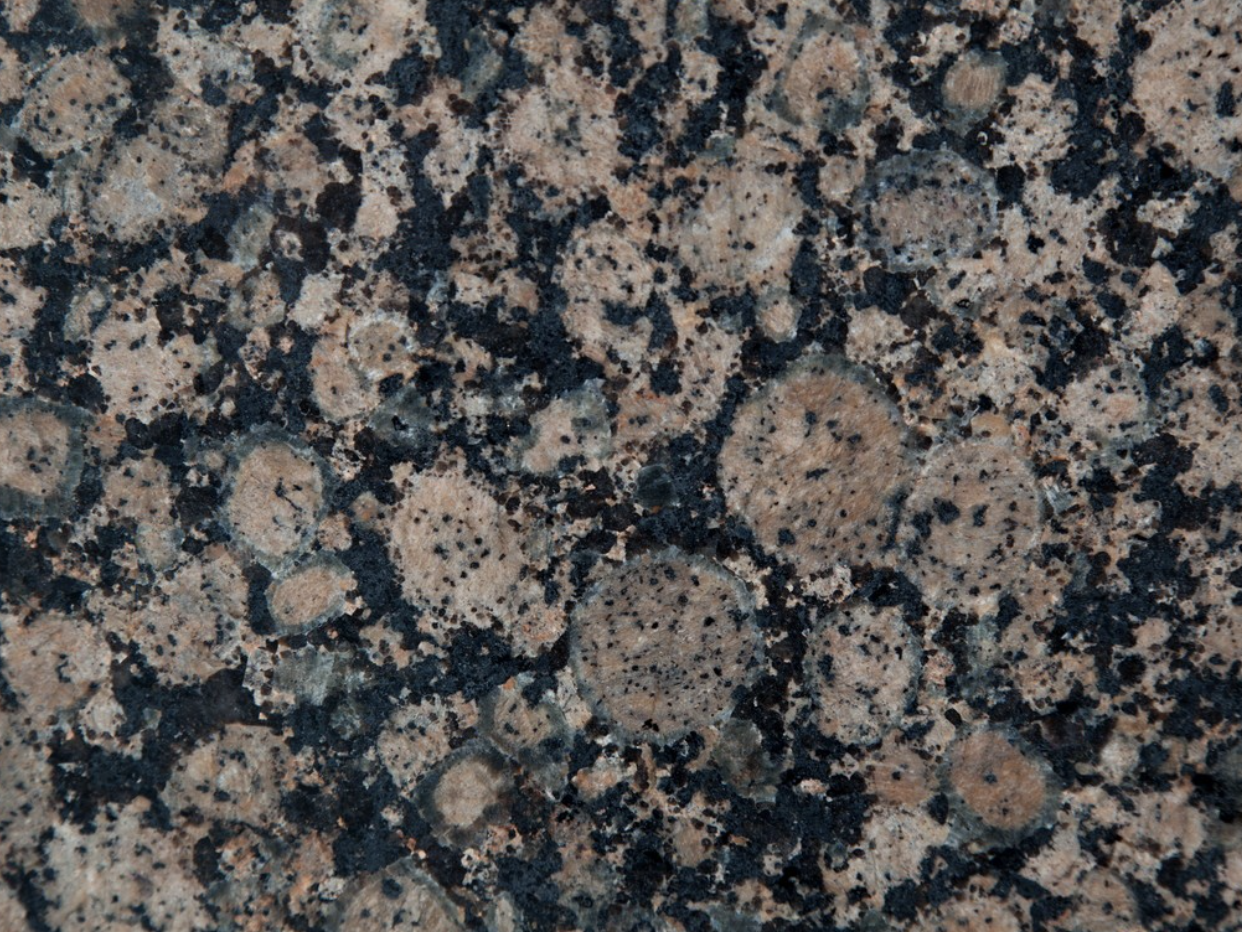 Baltic Brown - Baltic Brown granite originates from Finland. This stone is suitable for both interior and exterior design projects but especially for BBQ surrounds and bathrooms. | Matter of Stuff