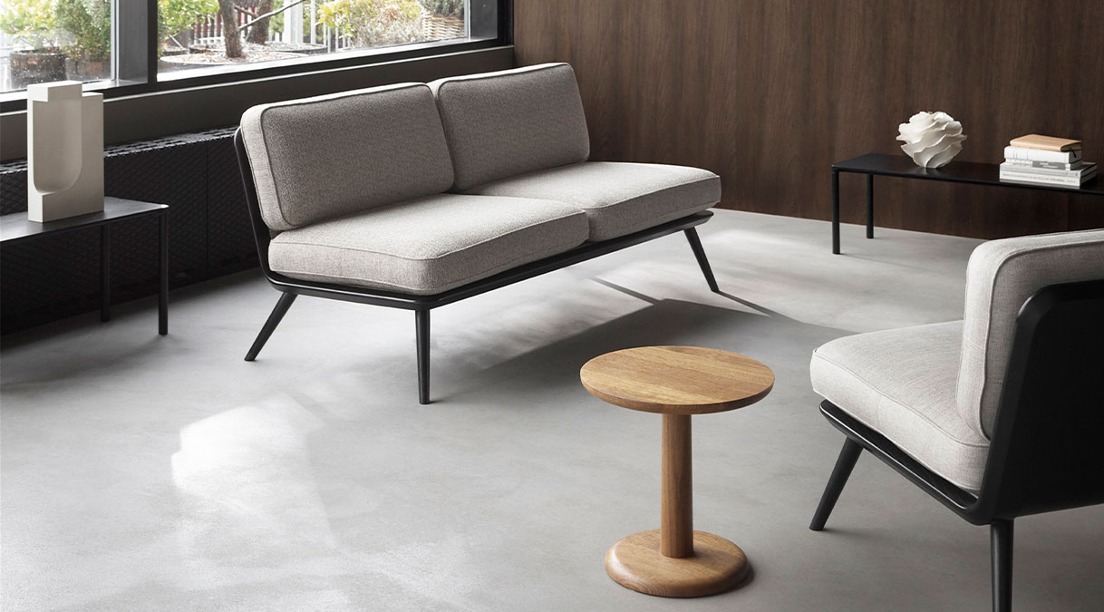 Spine Lounge Suite Sofa 2 Seater