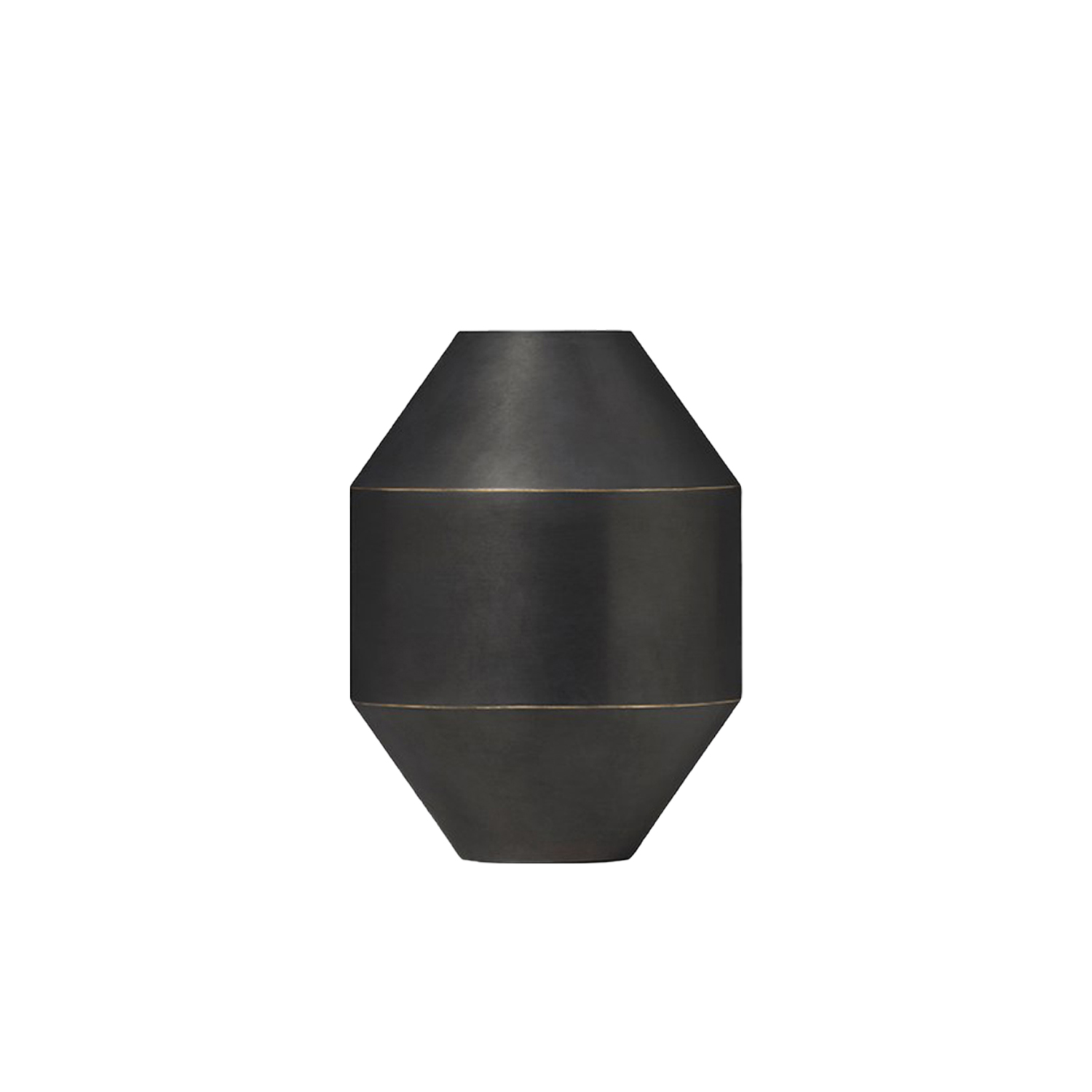 Hydro Vase - Referencing classic ceramic vases and ancient Greek vessels, the Hydro Vase makes a modern statement that incorporates the material properties and appeal of brass.  Fredericia introduces Complements – A new line of material-driven pieces conceived as collector's items to complement our portfolio.   Complements is a new collection of designs that join our main collection of furniture. A line of collectibles rooted in our passion for materiality comprised of functional pieces with aesthetic qualities that are equally appealing as decorative elements. From objects and small functional furniture to hidden gems from our archives with a renewed relevance.   With Complements, we expand on our expertise with materiality to encompass a range of accessories and furnishings that - together with our line of furniture - create a look and feel for an entire interior or concept.   Drawing on our legacy of working with wood and leather, we've explored other materials with textures, colours and compositions that bring an extra dimension to the atmosphere. The result is a celebration of materiality in well-considered concepts that are refined, authentic, inviting and crafted to last.   We're always open to designers, where we feel a strong connection with their work and a mutual mindset. For Complements, we've engaged with the next wave of new talent in Denmark and abroad. Both new and established names, who share our affinity for honest materials and purposeful design.   Complements remains true to our design heritage at Fredericia while staying in tune with the world at large. Each piece is distinctive, yet they all reflect our pioneering spirit to create essentials with presence and permanence.   Collectibles to cherish now – and for generations to come. | Matter of Stuff