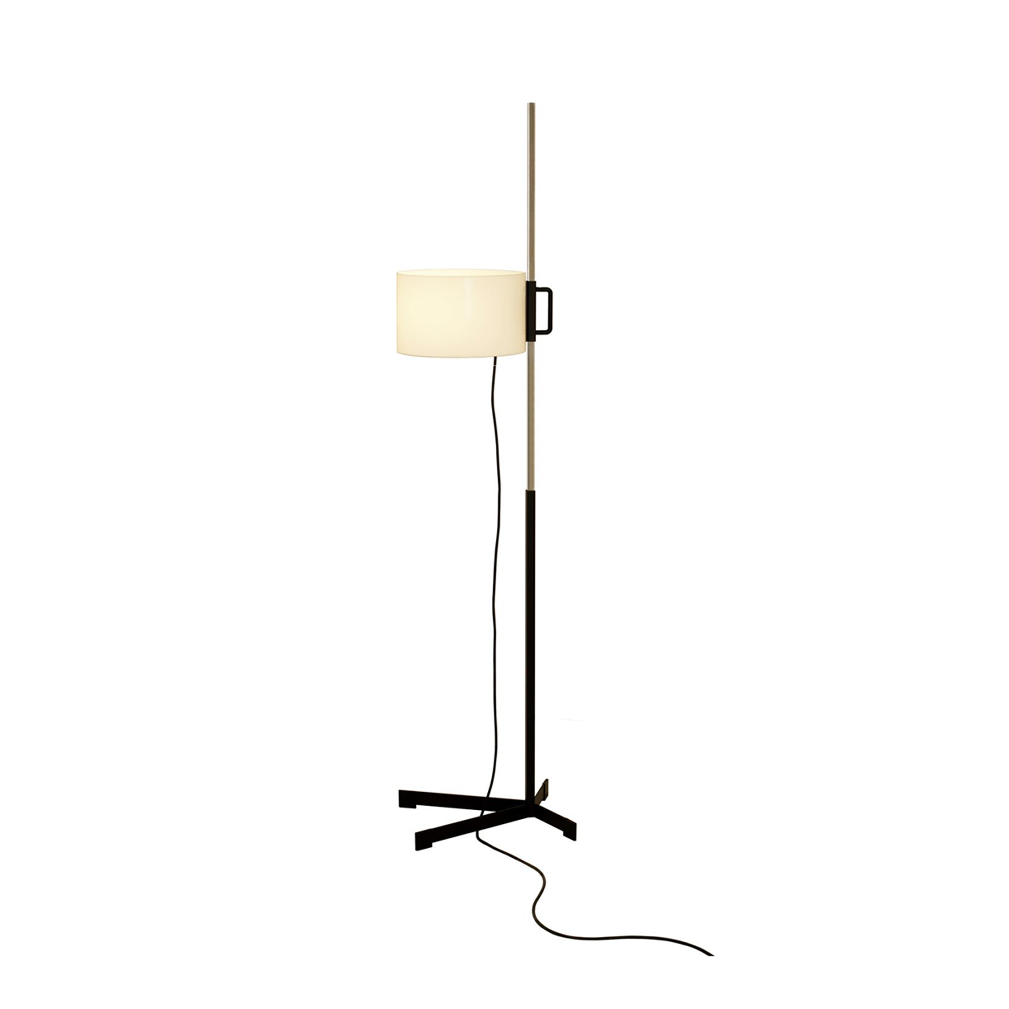 TMC Floor Lamp - <p>To mark the iconic design's 50th anniversary, Santa &amp; Cole released in 2011 the last and definitive edition of the TMC lamp, according to its author. The current version revives a number of details of the lamp's productive life, such as the methacrylate's thickness and quality used for the shade, and its circular shape. It also incorporates new improvements to the up-down shade system; the upper shaft is a smooth, continuous piece that can be adjusted using a magnet. An unbeatable masterpiece.</p>  | Matter of Stuff