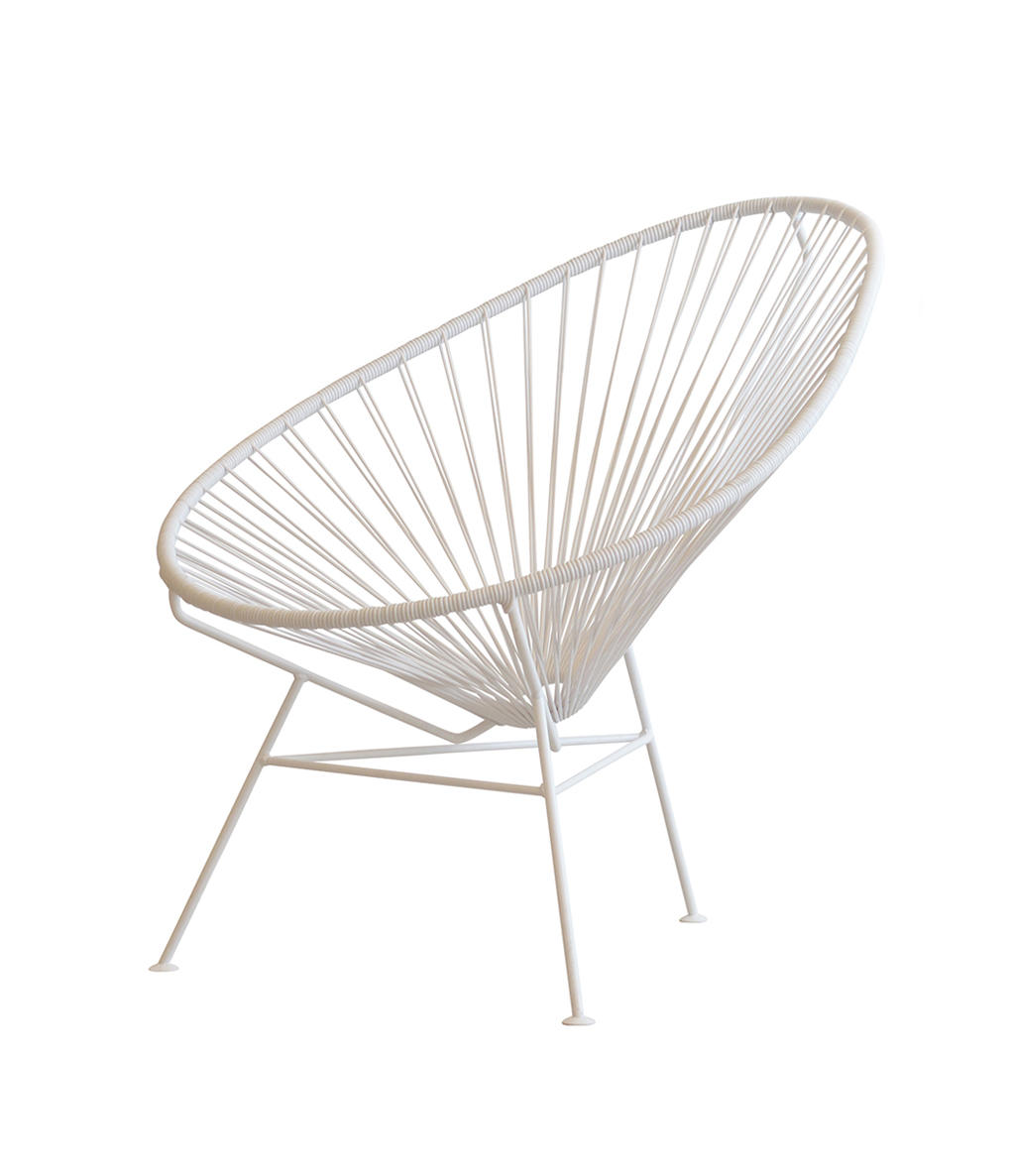 Acapulco Chair - <p>The Original Acapulco Chair® is named after the legendary Pacific resort Acapulco in Mexico. In the '50s Acapulco was a refuge of Pacific tranquillity, where cocktails were served to Hollywood's greatest stars on sunny terraces overlooking the Acapulco Bay. Elvis Presley, Elisabeth Taylor and John Wayne were some of many who fell in love with Acapulco at the time. Suitable for outdoor use.</p>  | Matter of Stuff