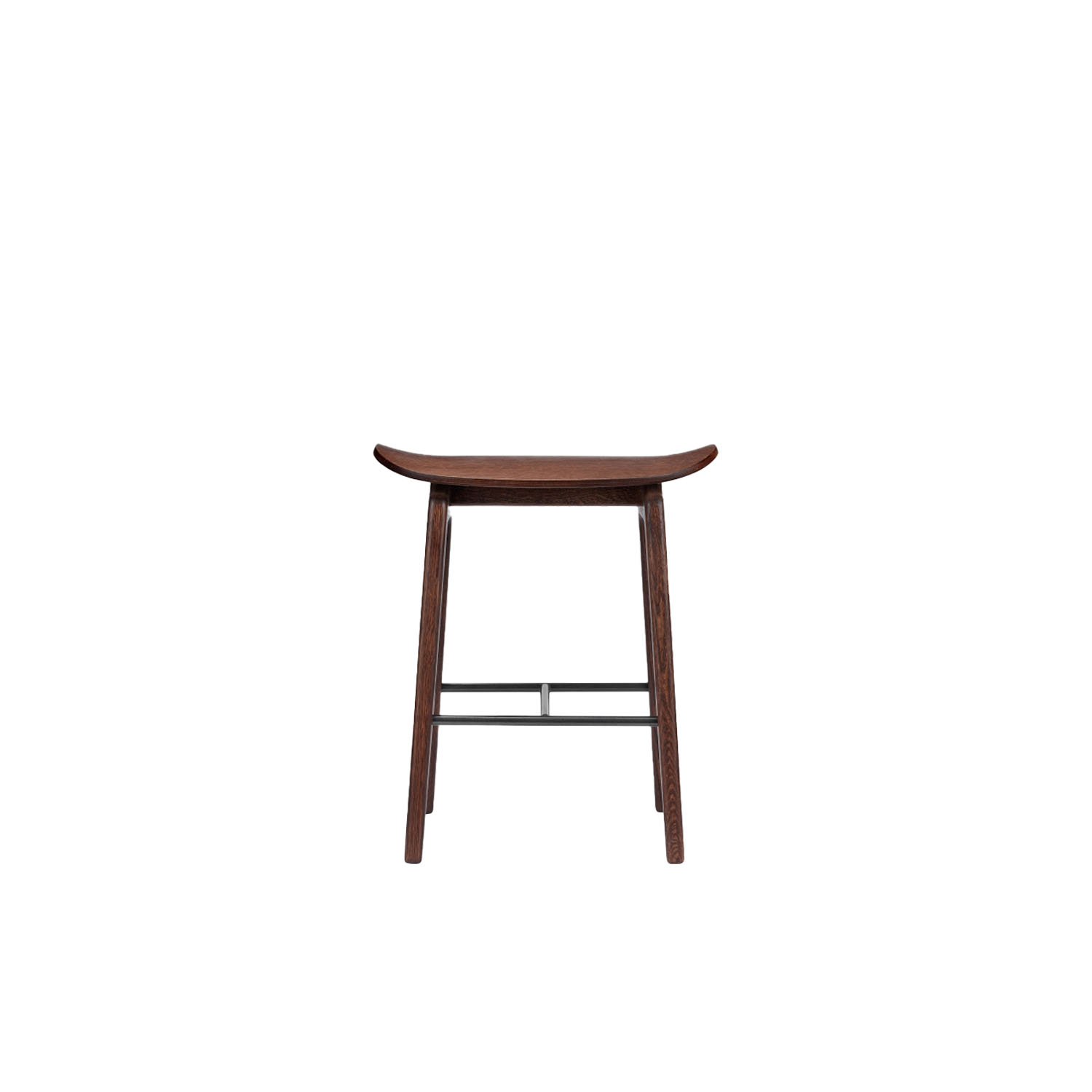 NY11 Stool - The NY11 Bar Stool has a frame hand-crafted from solid white oak and a seat of laminated oak veneer. The seat can be upholstered with a various selection of both leather & fabrics. The NY11 series is inspired by traditional Danish school chairs designed throughout the twentieth century. | Matter of Stuff