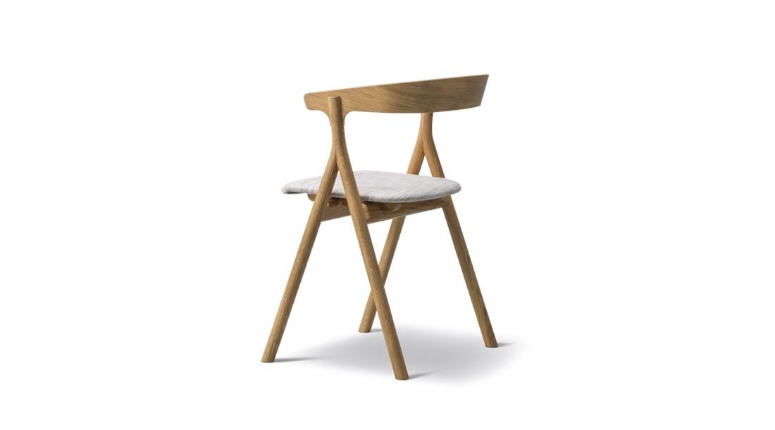 YKSI Chair Fabric Seat Upholstered