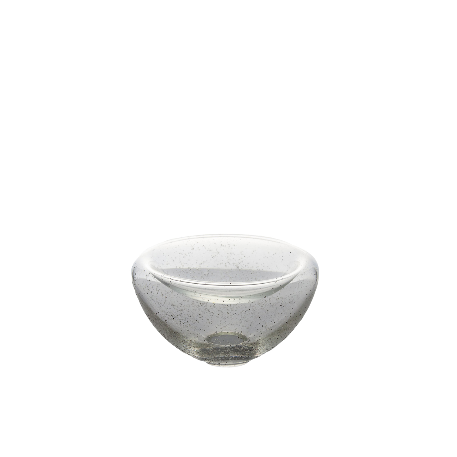 Sand to Glass Double Wall Bowl - The Double Wall Bowl is a hand-made bowl that combines glass with sand. This decorative bowl can be left empty and serve as a beautiful and eye catching focal point or be used to hold dry decorative additions to your home such as pressed flowers. This piece is part of a collection from 2018 which is focused on the idea of two. Such as the two types of sand that is used or creating double walls and connecting the two parts. 