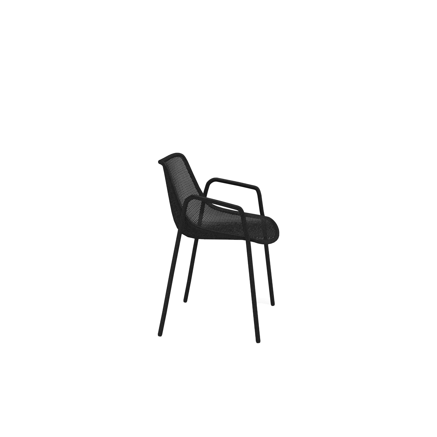 Round Armchair - Set of 4 - <p>Round is a collection defined by its search for structural balance and soft lines, an interpretation of outdoor space that conveys stylistic but essential refinement. Clean and basic shapes mark the range elements that make up this collection.</p>