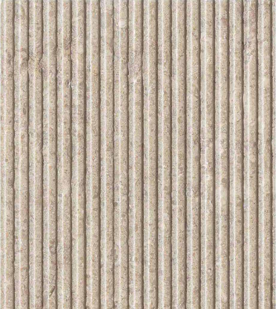 Grolla Beige Altena - Grolla hard limestone, the company's flagship product, is a versatile and resistant material because it lends itself to all types of processing.  What distinguishes this stone from the others are its extraordinary certified technical-mechanical characteristics, such as low water absorption, resistance to abrasion, salt, pollution and frost.  Thanks to these peculiarities, Grolla is suitable to the realisation of outdoor projects (ventilated and glued facades, floors, swimming pools) and interiors (wall coverings, floors, bathrooms, kitchens, objects and furnishing elements such as sinks, shower trays, tubs, tables and much more).  The colors of the Grolla range from beige to intense pink shades, passing through grey.  The remarkable technical characteristics, combined with the aesthetic qualities of this stone, adapt to suited to styles, architectural contexts and design from classic to contemporary, perfectly matching with wood, glass, steel and other materials.  Interiors and exteriors, classicism and contemporaneity: for Grolla, every solution is possible. | Matter of Stuff