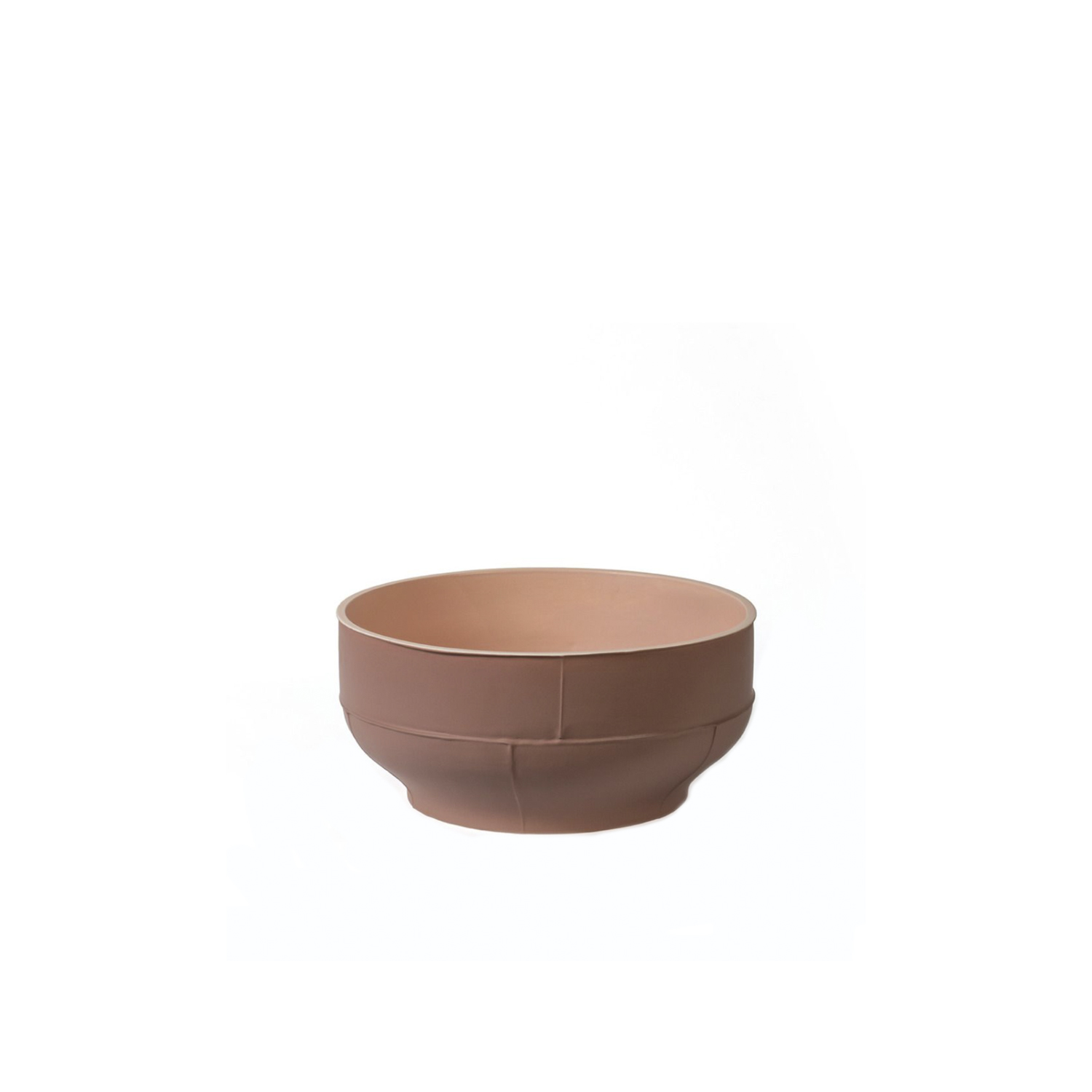 Brown Bowl - Brown Bowl, Cast in white clay. One toned in Grey with matt finished Year of production 2014 | Matter of Stuff