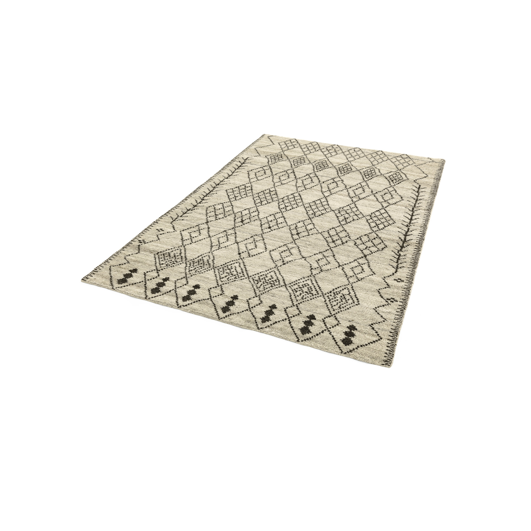 Amira 01 Rug - <p>Part of the Classica Heritage Collection, timeless oriental and Persians deisgns are refreshed for the present day. Classic looks and traditional crafts feature throughout for sophisticated style and long-lasting appearences. Amira is a hand-knotted rug with a Maroccan Berber look, washed for a softer feel. Avaiable in different sizes.</p>