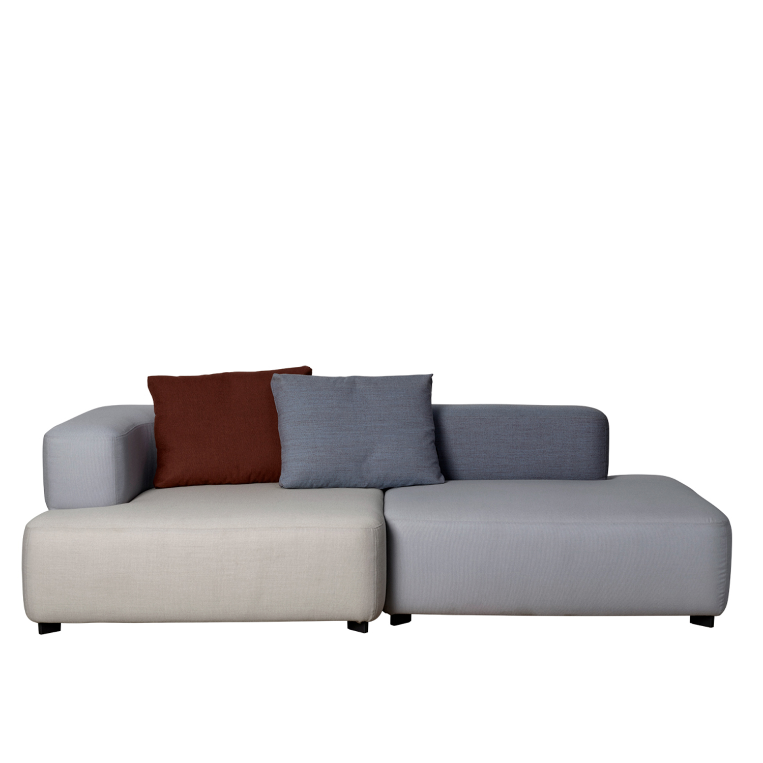 Alphabet Modular Sofa Series - Alphabet Sofa Series is a flexible sofa concept designed by Piero Lissoni. The design, inspired by toy Lego bricks, consists of modular elements that can be combined in an endless variety of combinations. The fully upholstered seat, back and armrest units come in a wide range of fabrics, which are easily removed for cleaning or replacement. 