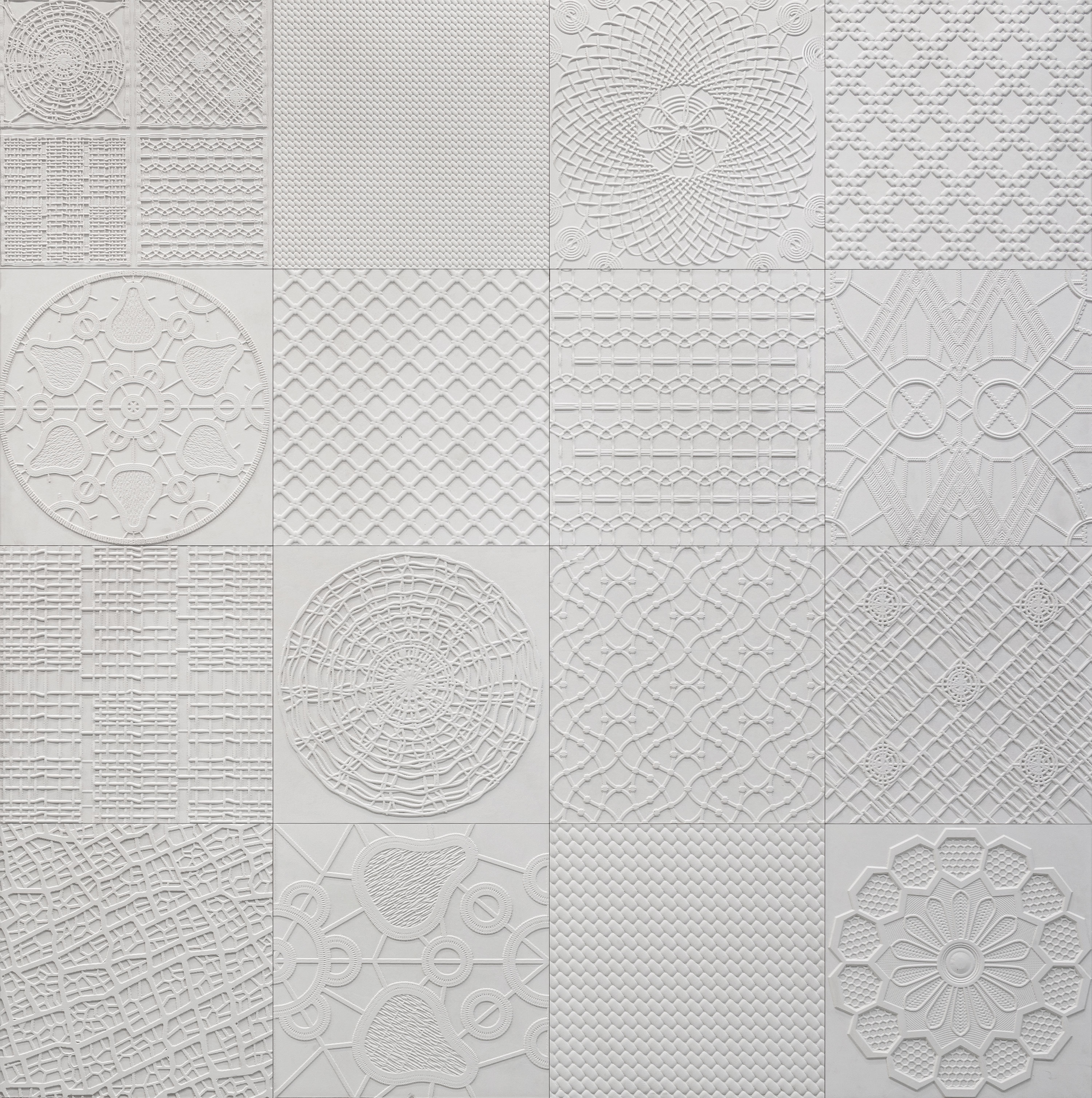 "Weaves - <span>Stories of stone and words, of fossils designed by nature, a mixture of culture and intertwining of knowledge are brought to life within the MEDITERRANEAN WEAVES collection designed by Marella Ferrera.</span><div class=""wpb_text_column wpb_content_element ""><div class=""wpb_wrapper""><p>A contemporary interpretation of the textile tradition made in Sicily that reflects the transparency and lightness of ancient embroidery, doilies, filet and macrame' on stone creating a delicate filigree of extraordinary beauty and chromatic quality.</p><p>All of Sicily is expressed in the palette of its richest stones; from the lava stone to the white Comiso stone, from the pitchstone to the Ragusa stone, from the Palermo stone to the Trapani stone.<br /><br /></p><p><em>""A shared vision of the symbols of the Mediterranean 'etched in stone' which begin with the understanding of textiles, with a gentle hint of the baroque sculptures which then blend with the symbols of architecture.""</em></p><p><em>Marella Ferrera<span> </span></em></p></div></div> 