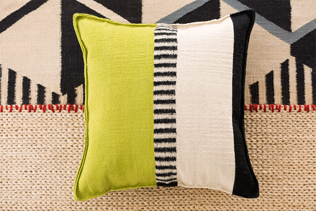 Rustic Chic Square Cushion - <p>Jute becomes our ally. We question old frameworks in order to stimulate new flights of imagination, presenting a dynamic approach that makes everyday spaces much more meaningful.<br /> Flexible, fresh and soft, jute adapts to new techniques with surprising ease. Such a creative capacity for change will fill your home with harmony and beauty. The manufacturing technique for this is hand loom and due to the handmade nature of the GAN product, slight variations in size, colour, finish are normal. </p>    Matter of Stuff