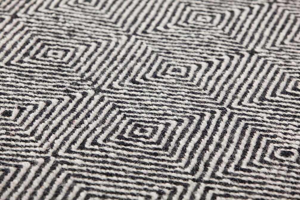Sail Reversible Rug - <p>Portable comfort. Dhurrie epitomises great and unrestricted comfort. Its studied shape gives it an accommodating quality, adaptable to everybody, posture and conversation. Informal yet elegant. Trendsetting yet classic. Portable comfort. Dhurrie epitomises great and unrestricted comfort. Its studied shape gives it an accommodating quality, adaptable to everybody, posture and conversation. Informal yet elegant. The technique of producing Dhurrie carpets and rugs on a handloom with beautiful pure new wool was used to design the fabric and its hypnotic, relaxing pattern that serves as the basis for all the items in the Sail collection conceived by Héctor Serrano. The set comprises rugs, cushions, pouffes and an informal, bean bag style chair, whose shape is achieved by using a triangular format made from just two pieces of cloth. This is where the name of the collection comes from: the similarity of this item with a nautical sail Trendsetting yet classic. Due to the handmade nature of the GAN product, slight variations in size, colour, finish are normal. Due to the handmade nature of the GAN product, slight variations in size, colour, finish are normal. </p>  | Matter of Stuff