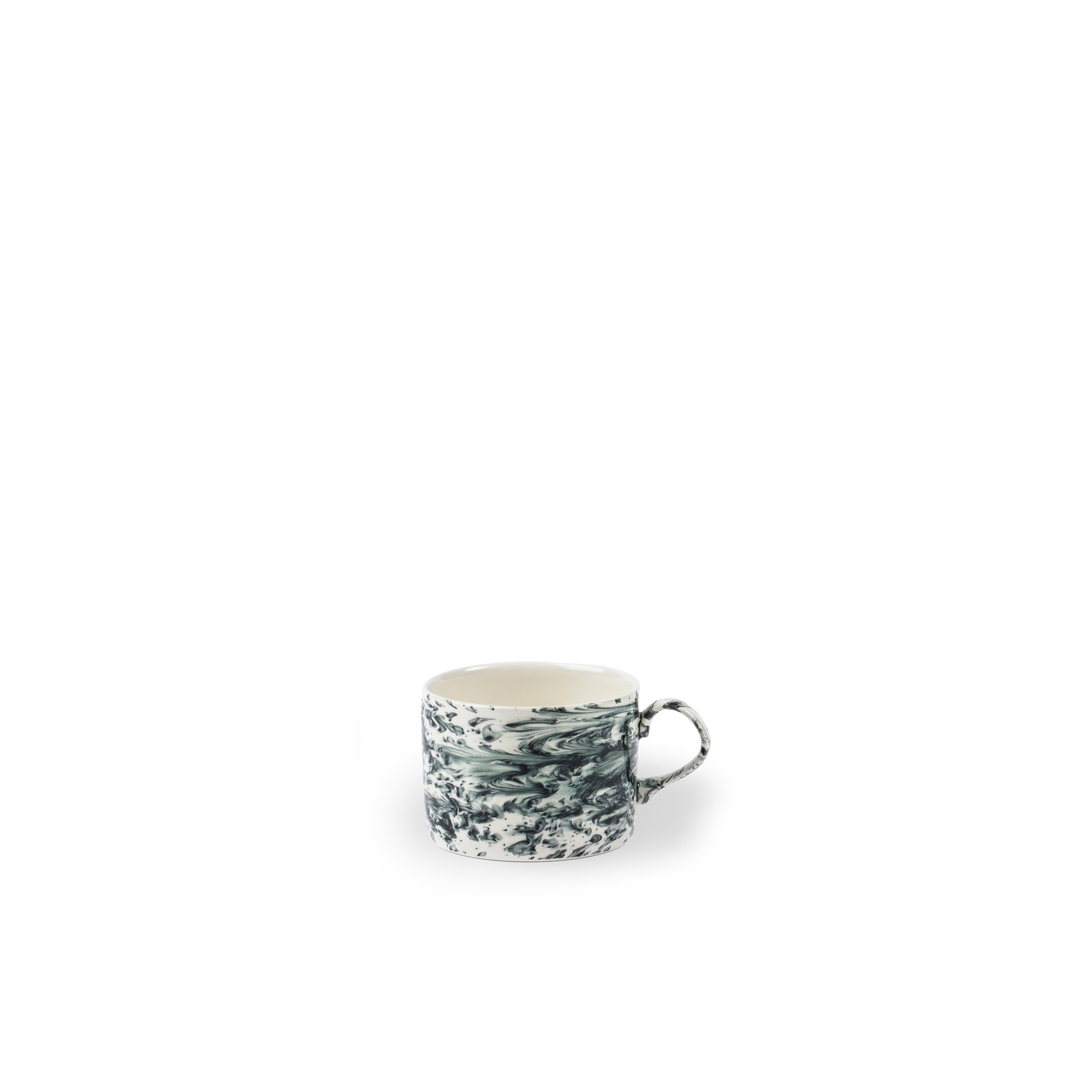 Slick Mug - Slick by 1882 Ltd. is a collection of uniquely hand glazed tableware – a true testament to the skill of the Potter. So many factors make up the pattern of the glaze; from the heat of the piece to the weight of the glaze. The Potter works each piece individually making each item unique.  Made in England. Microwave and dishwasher safe.  | Matter of Stuff