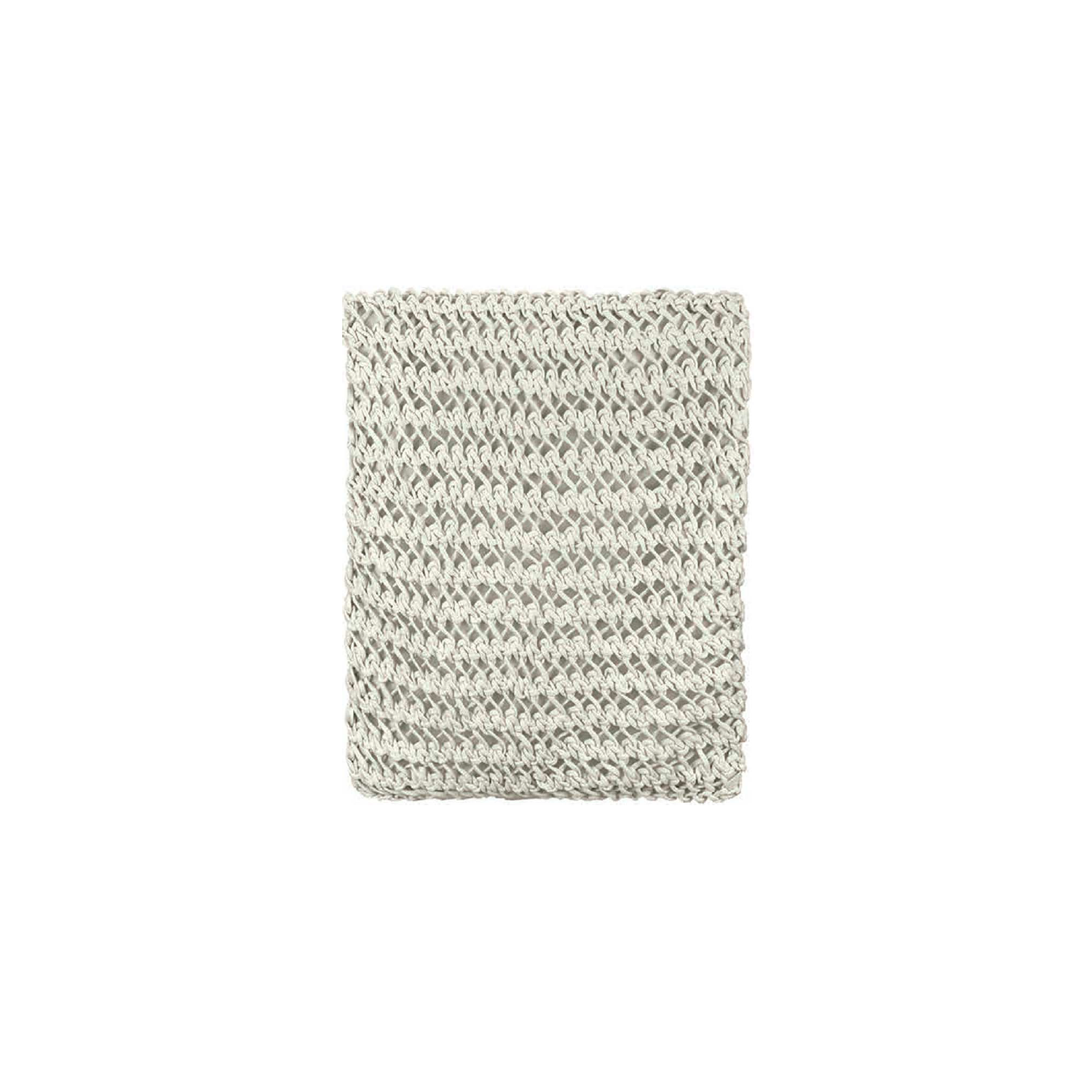 Gaia Knitted Cotton Throw - The Gaia Line is carefully knitted within a trained community of women that found in their craft a way to provide for their families, each one of these cushions and throws is unique.  Elisa Atheniense Home soft indoors collection is made with natural cotton fibres, eco-friendly, handwoven or elaborated using traditional hand-loom techniques. The use of organic materials brings softness and comfort to the space. This collection combines their mission for responsible sourcing and manufacturing.  Please enquire for more information and see colour chart for reference.   | Matter of Stuff