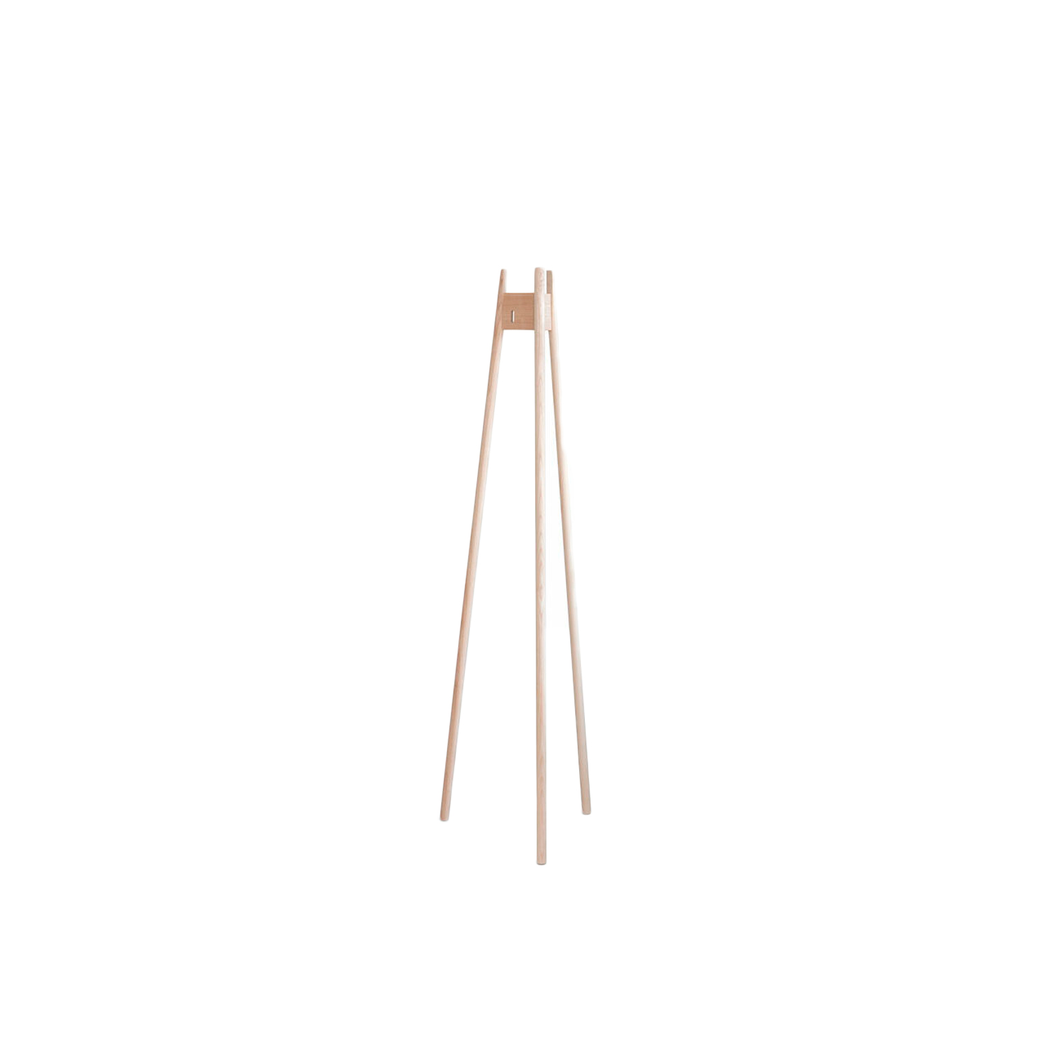 Arkitecture Coat Rack - The Arkitecture coat rack is lightweight, easily movable and minimalistic. The more jackets it carries, the steadier it becomes. Includes a place for a hanger.  This coat rack is available in ash with an oiled finish.   | Matter of Stuff