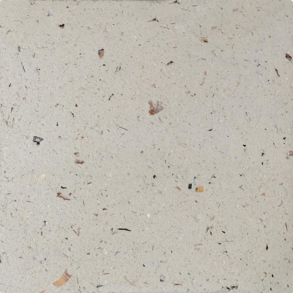 Natural Ivory SeaStone Plain Tiles