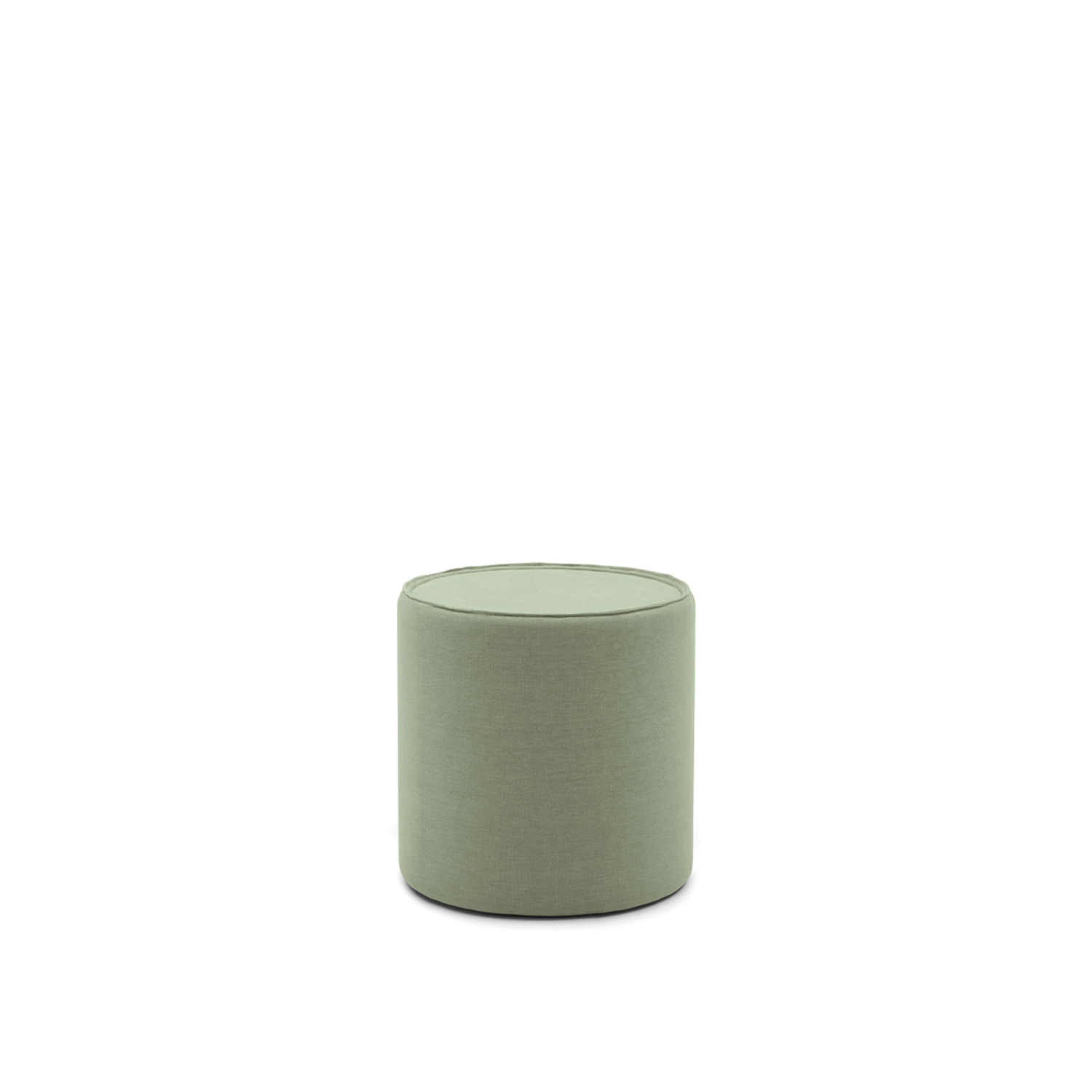 Edith Pouf  - Edith is a young and lively pouf, with several finishing possibilities of the top. It also becomes multifunctional thanks to the optional dock station. Top available in the same fabric or in the following finishings: matt lacquered RAL 9010, 9011, 3005, 5008, 8019, 6020, 7044 or with marble top in the following finishings: Carrara, Brown silk, Emperador dark o Fior di pesco.   Matter of Stuff