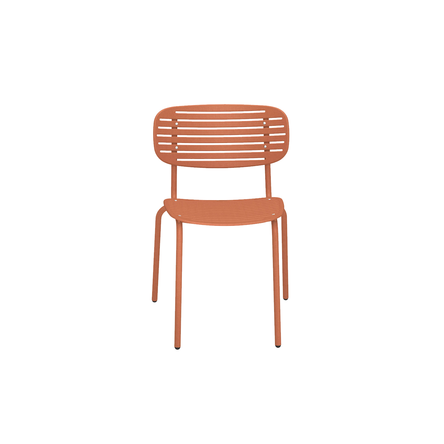 Mom Chair - Set of 4 - <p>Mom is a brightly coloured collection of steel chairs in two versions, a chair and an armchair. The graphic effect of the elegant, sculptural, metal backrest lightens the soft, snug shapes. The solid colour palette gives this collection a young, fresh and ironic touch.</p>  | Matter of Stuff