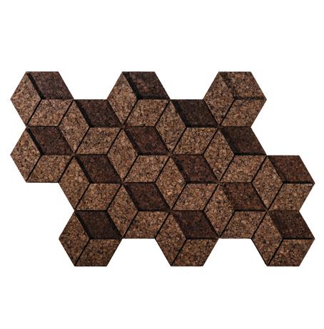 Corkube Cork Tiles