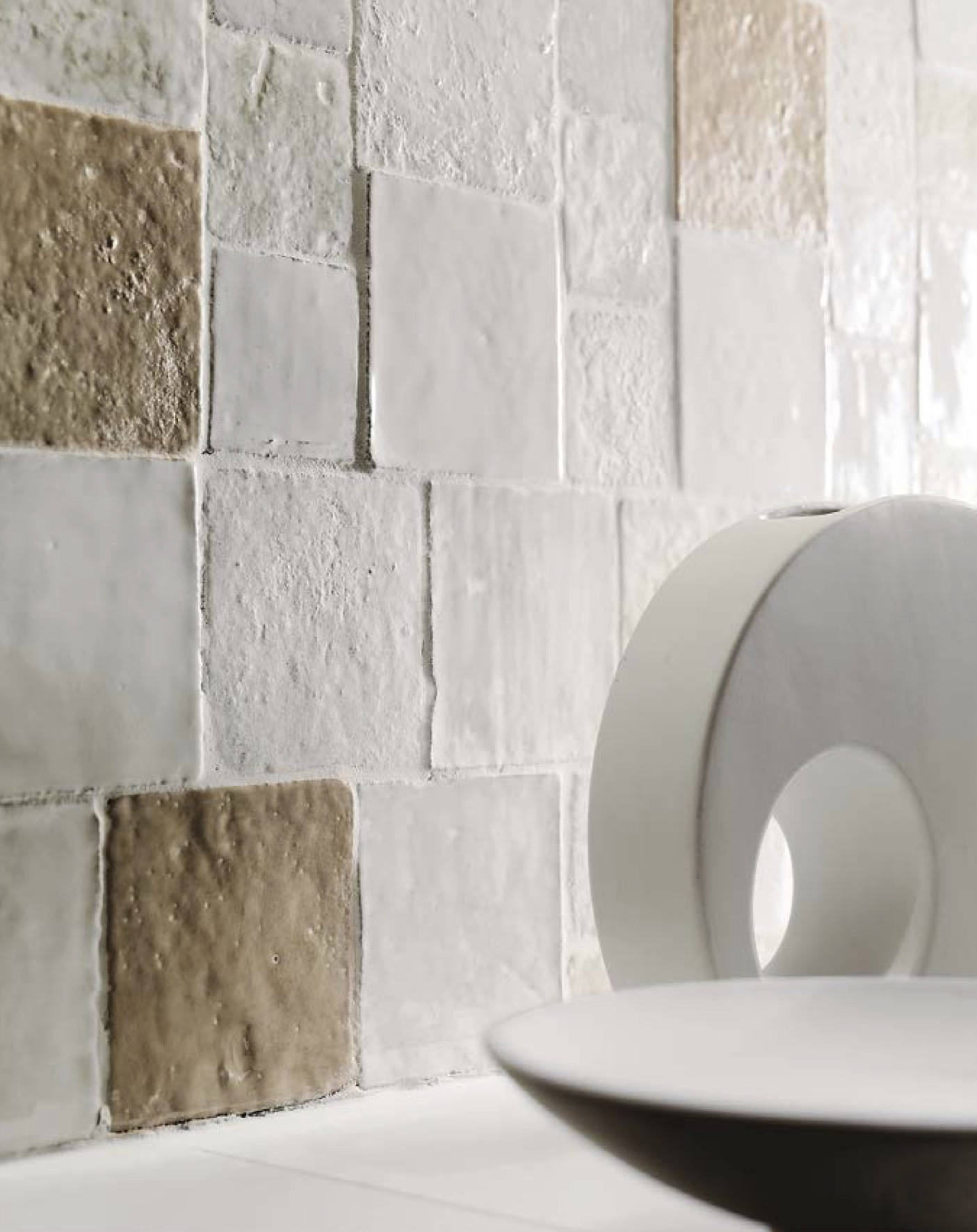 Square tiles Bianco Mix -  | Matter of Stuff