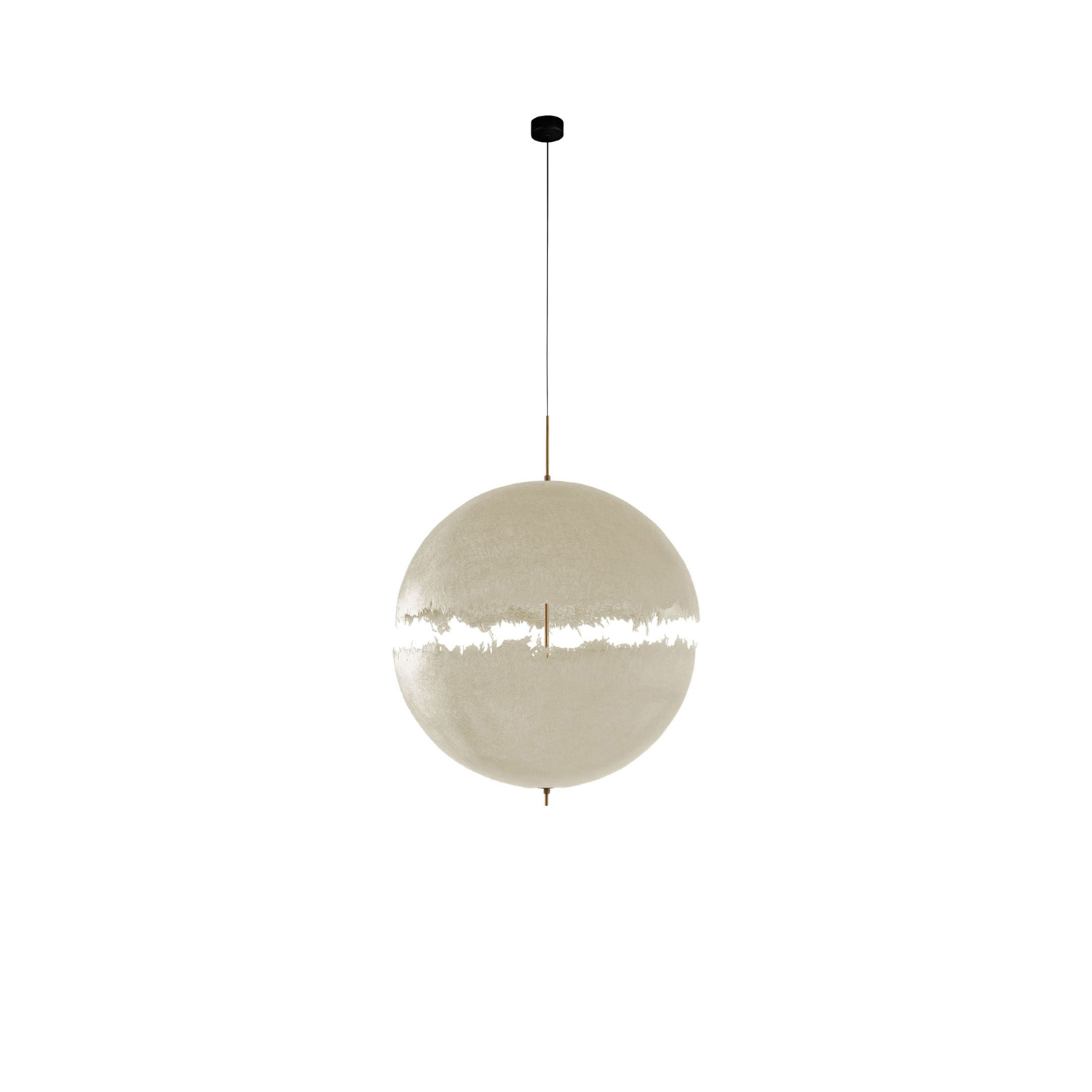 PostKrisi 65 / 66 / 67 Pendant Lamp - With PostKrisi Enzo Catellani began working and moulding fibreglass. This material fascinated him due to its incredible versatility and strength, but above all for the shadows it casts when it interacts with light. | Matter of Stuff