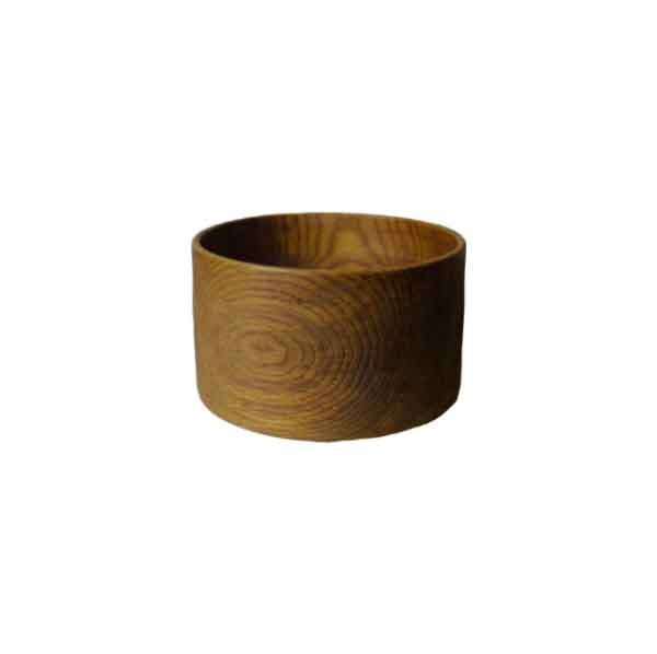 Bowl 01 - The artistic work of the trained carpenter and film-director Fritz Baumann is expressed in award-winning films and unique works in wood. No. 01 Bowl is hand carved in oak and limed.  | Matter of Stuff