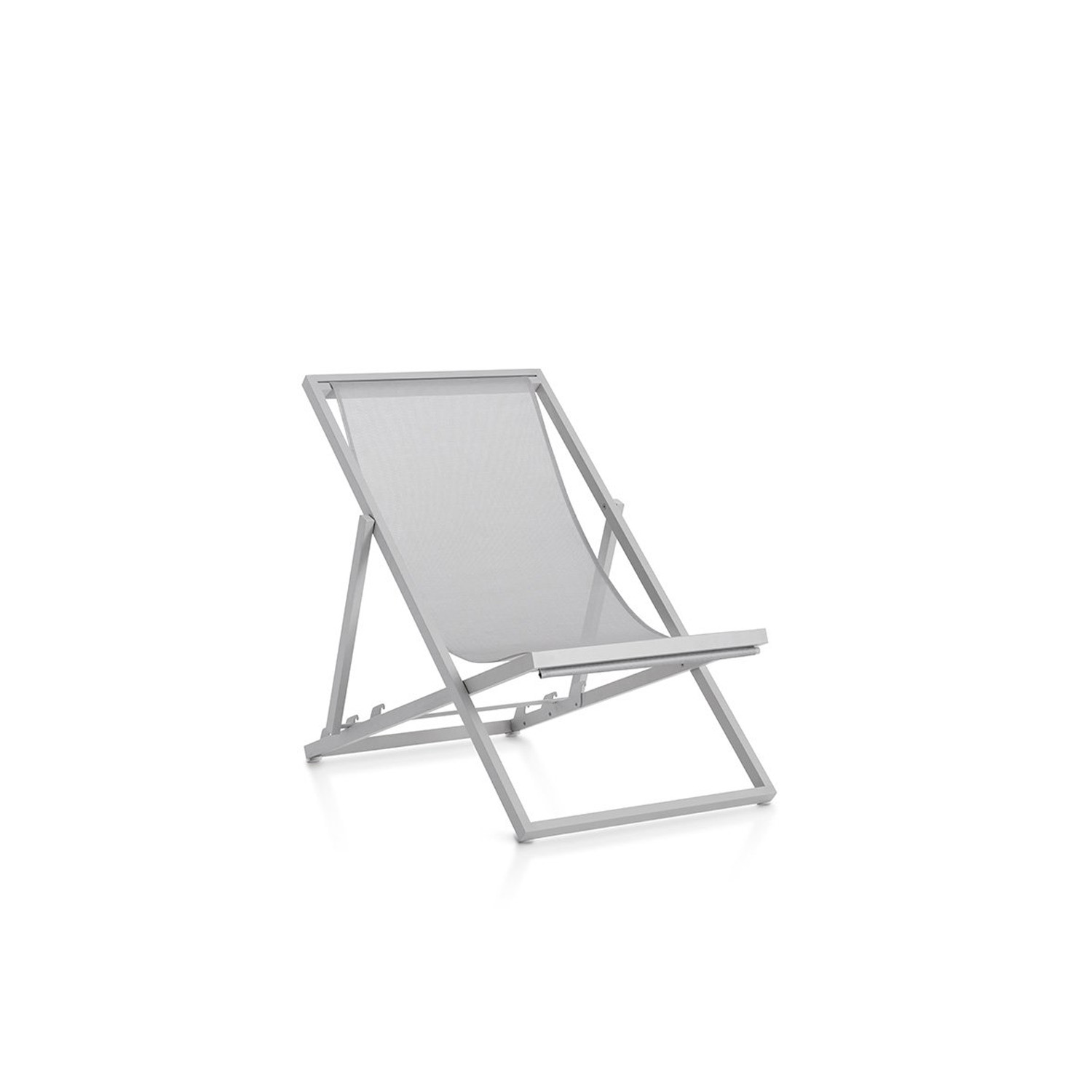 Picnic Deckchair - <p>Picnic is an improved version of the traditional folding garden deckchair. With a lighter and more hard-wearing design making it easier to carry to the beach or the park, Picnic can also be left outside permanently in all weather conditions. It's the ideal companion for enjoying a day out in the open air, plus it can be used at home both indoors and outdoors as it's foldable and very easy to carry around.</p>
